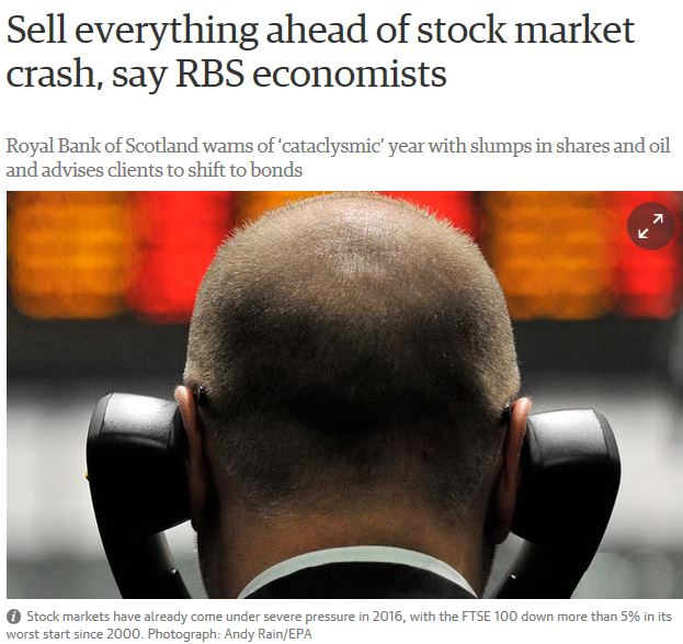 The Smart Money People were not happy campers in January