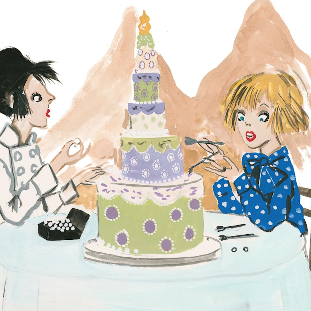 T MAGAZINE - A Sugar Artist Leads a Cake Walk Through Central Italy