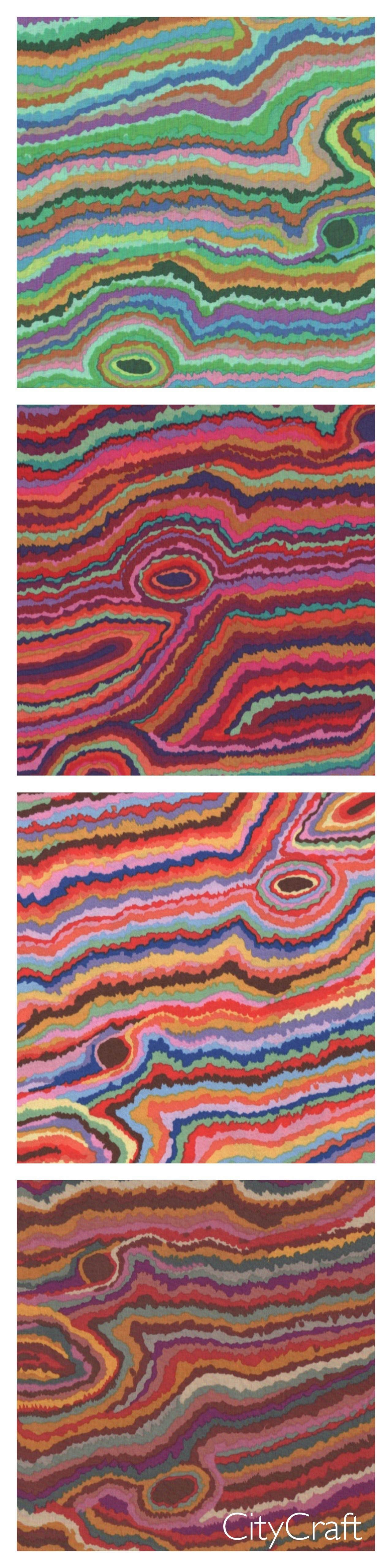 Kaffe Fassett Jupiter Print Fabric at CityCraft