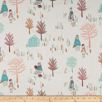 Manufacturer: Art Gallery Designer: AGF Studio Collection: Little Clementine Fabric: Meeting Place Brightday Type: Quilting Cotton Width: 44/45