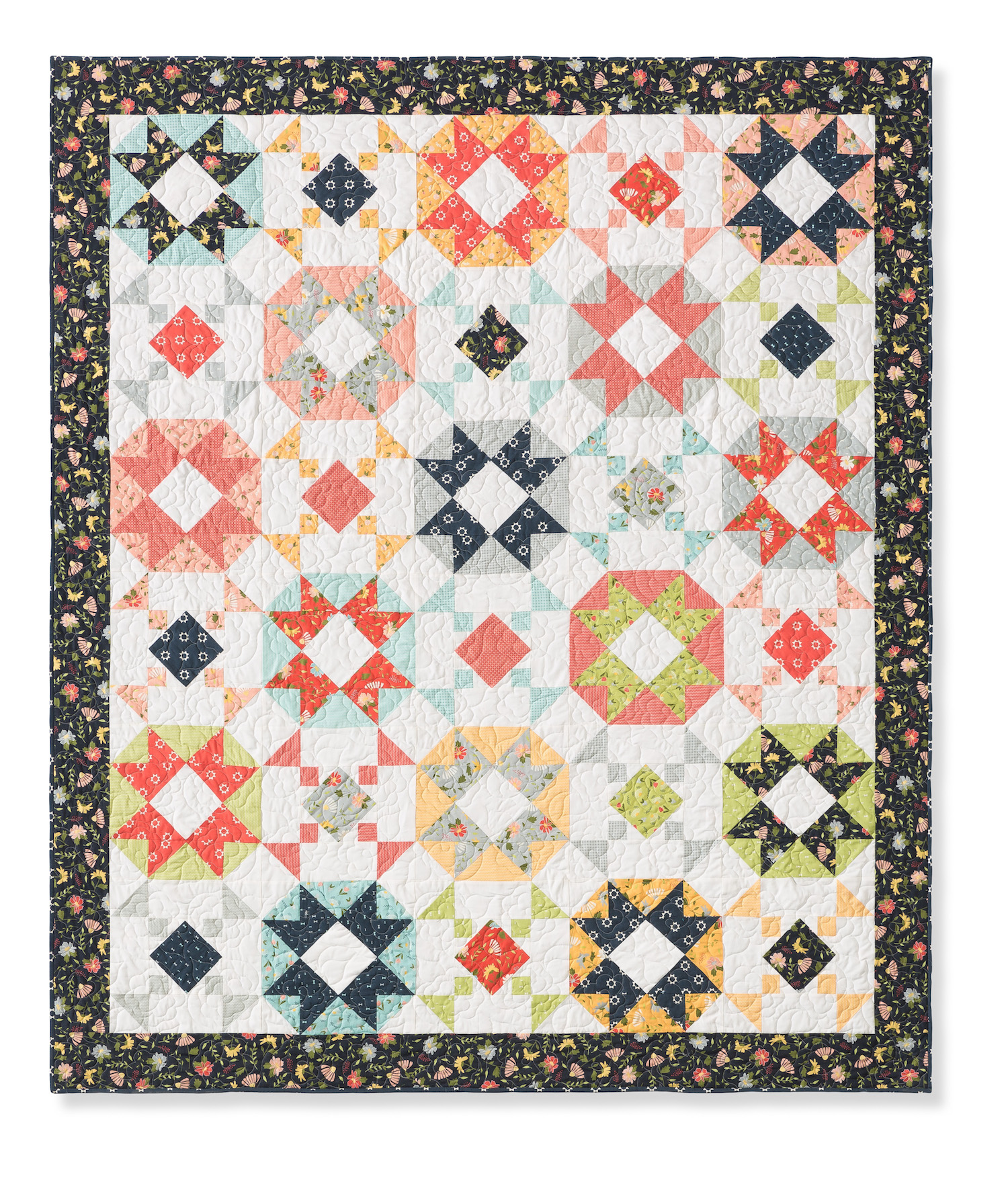 Weekend at the Lake Quilt Pattern by Callie Works-Leary