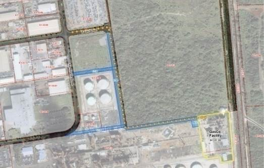 Parcels and Easements at Campbell Industrial Park