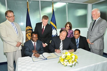 Formal Signing of the NORI Exploration Contract at the International Seabed Authority Secretariat