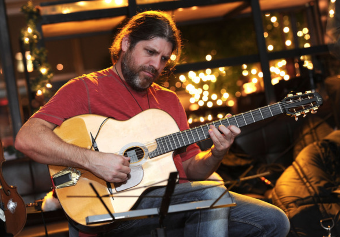 Stéphane Wrembel is a French born jazz guitarist best known as a composer and performer of Gypsy Jazz, and also heavily influenced by world music.