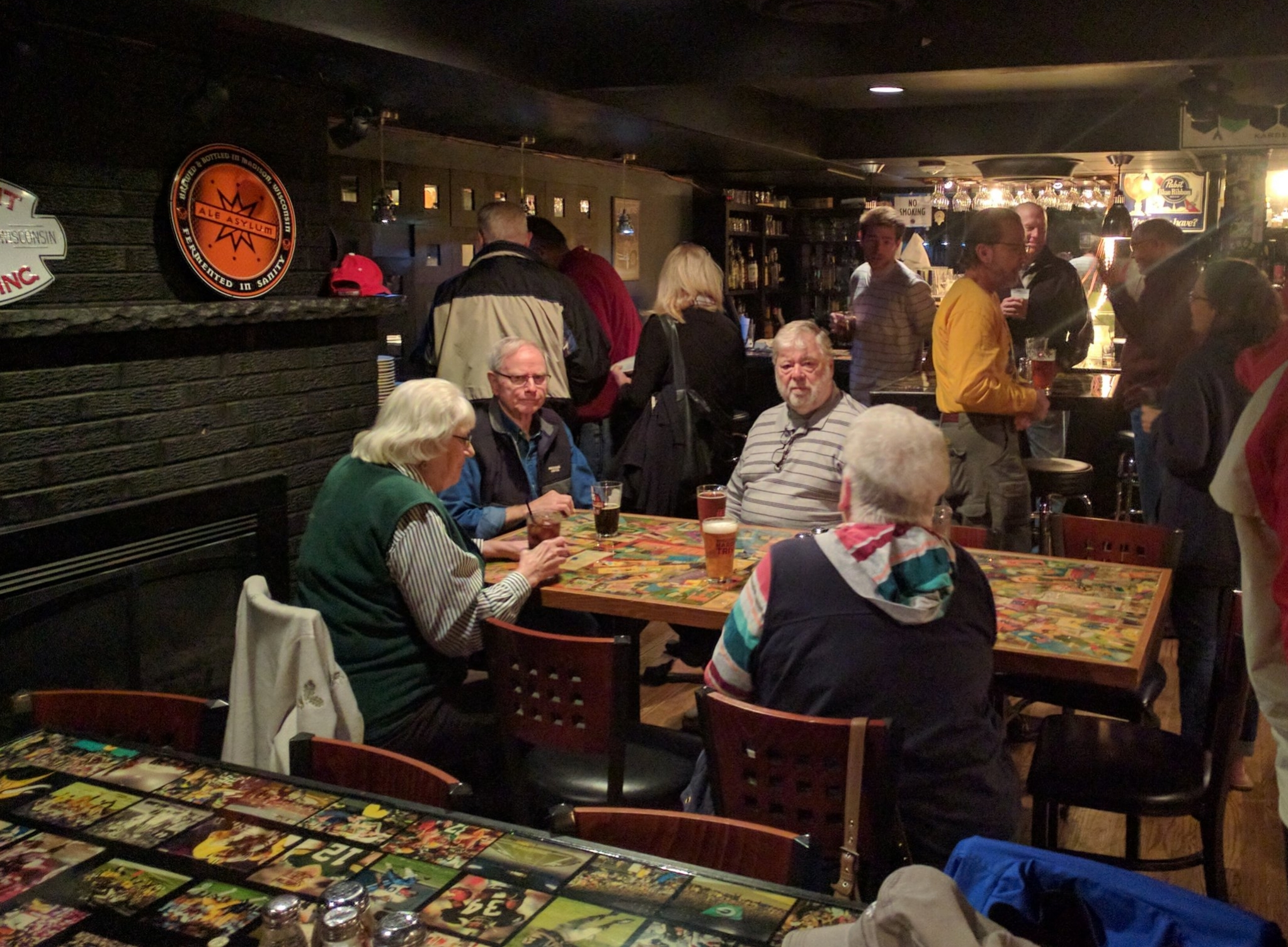Thanks to  Glass Nickel Pizza  for hosting our annual volunteer appreciation gathering earlier this month. We honored two long-time volunteers, Charlotte Marshall who has been with Wheels for Winners for 24 years and Walt Brinkmann who has been with us for 18 years!
