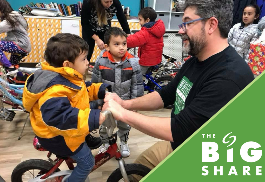 The Big Share  is next Tuesday, March 6th. Support Wheels for Winners or one of the other great non-profit organizations that take part in this 24-hour online giving event! #CSWBigShare