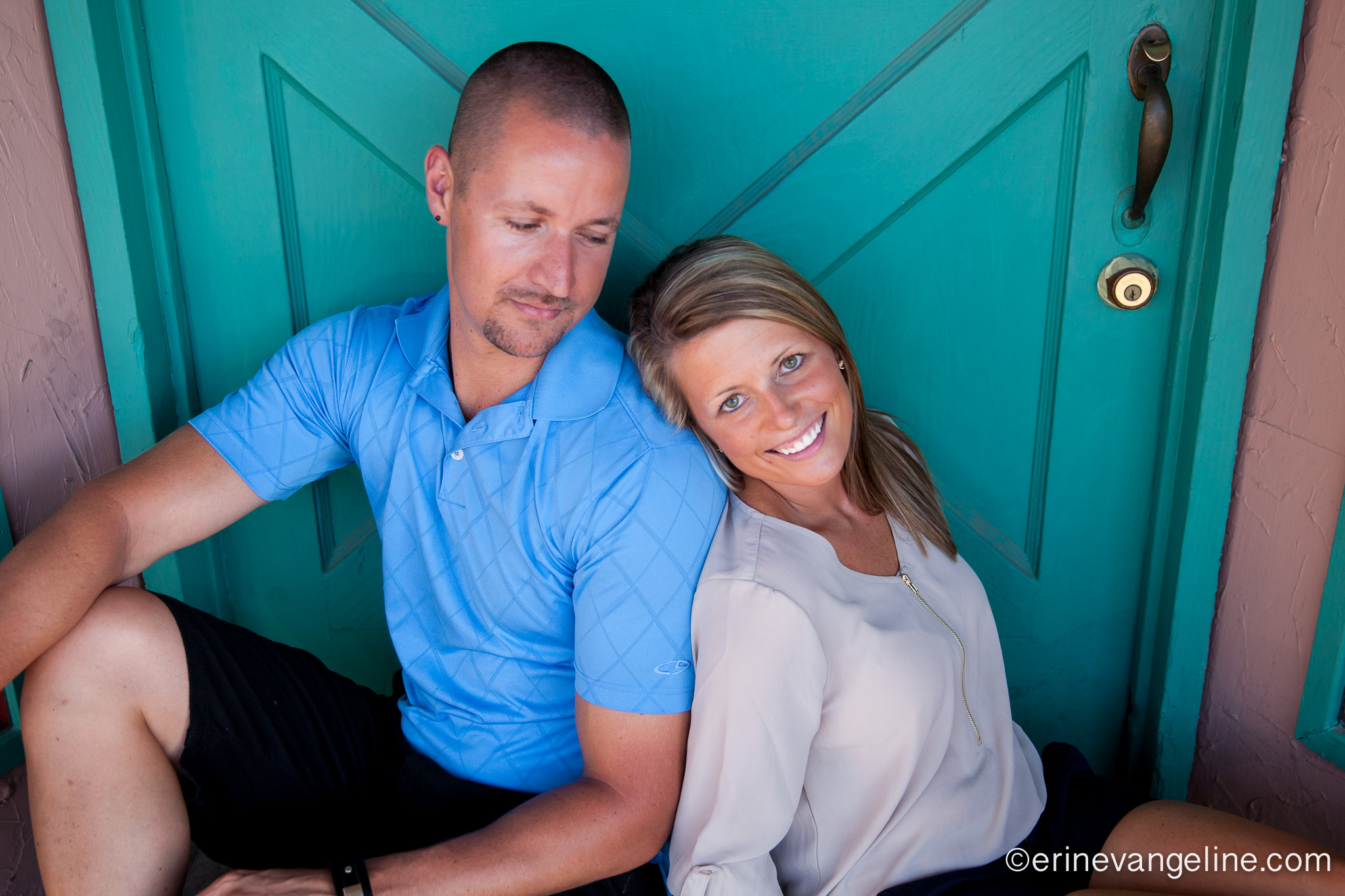 Old Town Scottsdale Engagement Photos Erin Evangeline Photography