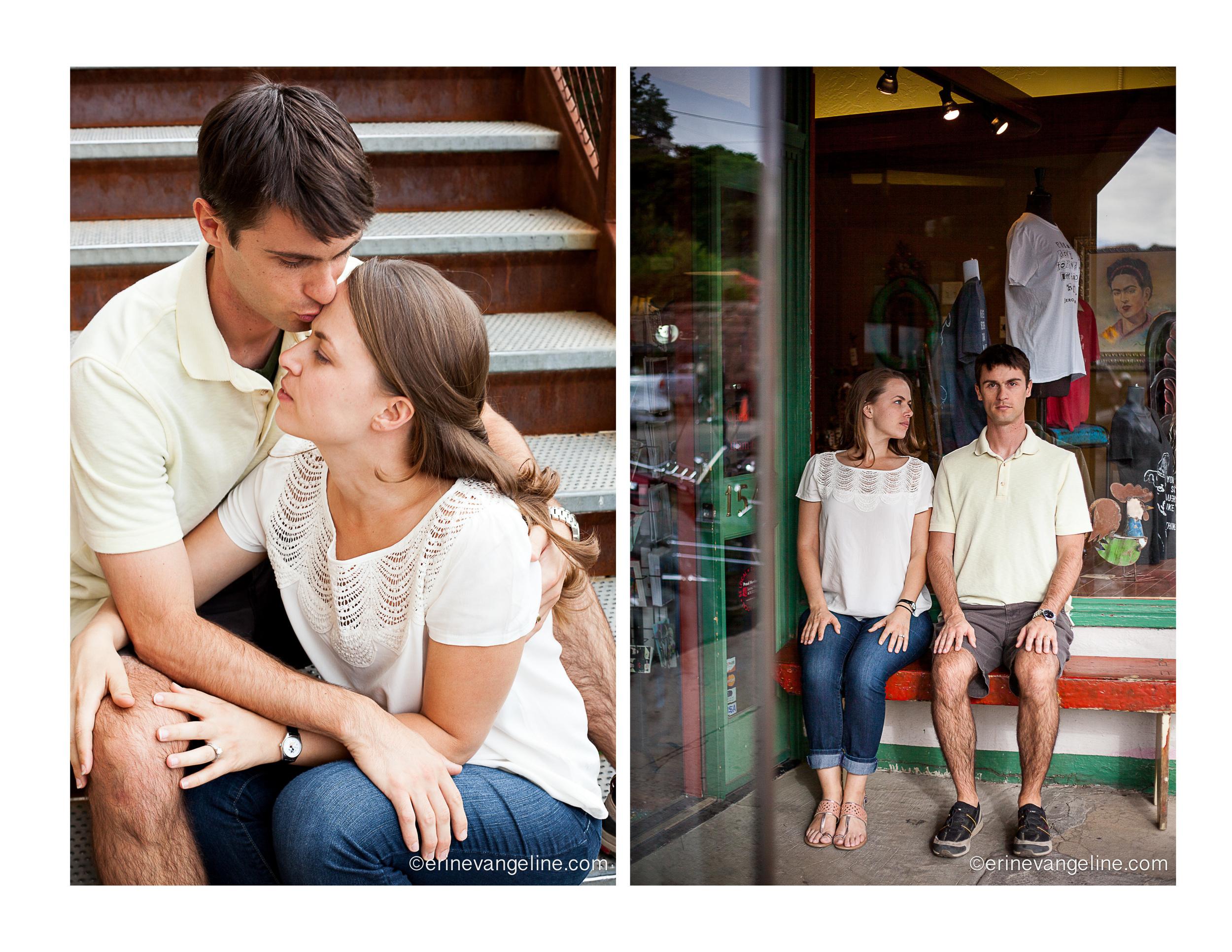 Erin evangeline Photography Engagement Photography Jerome Arizona
