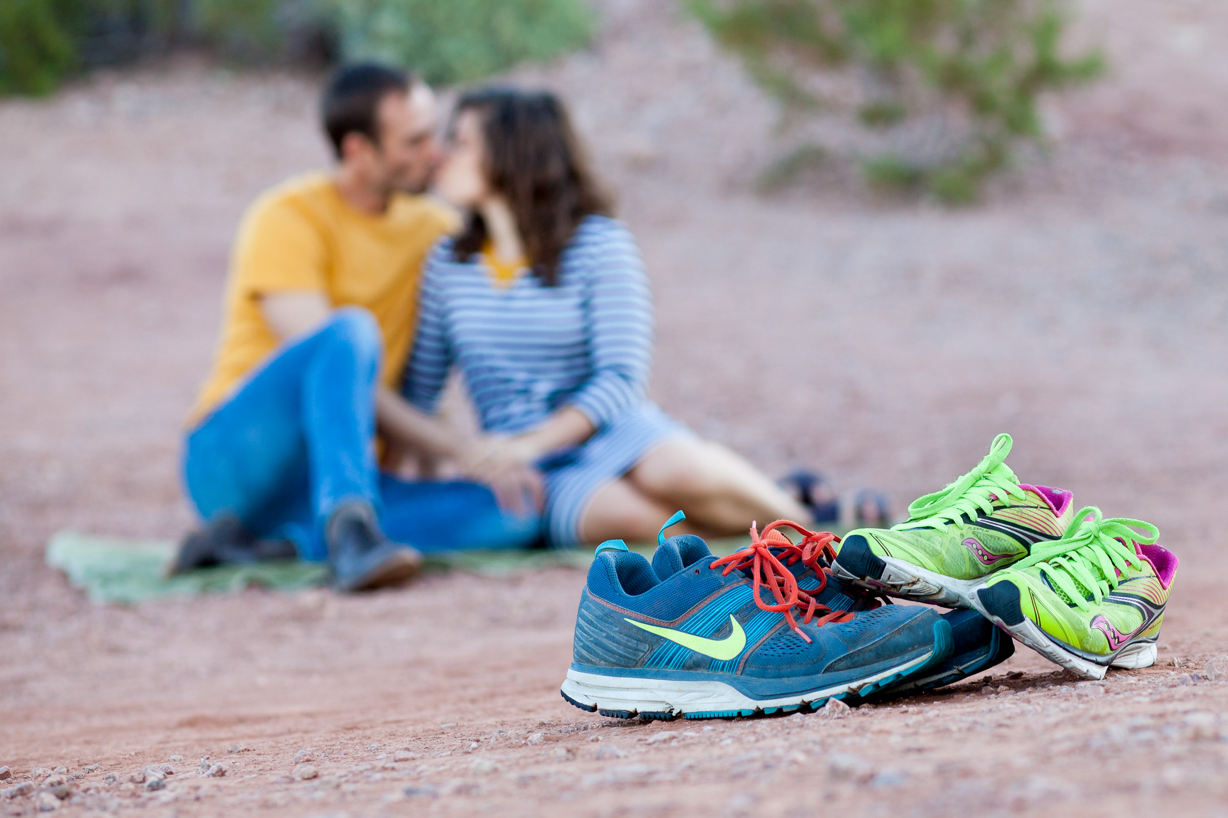 Papago Park engagement Photography