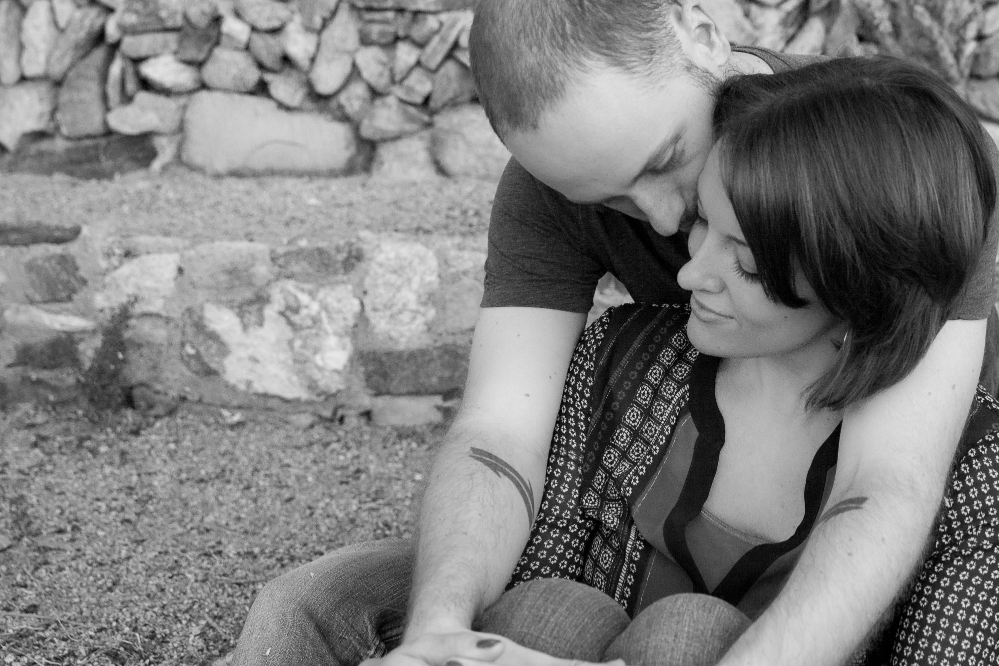 Phoenix arizona South Mountain Engagement Photos