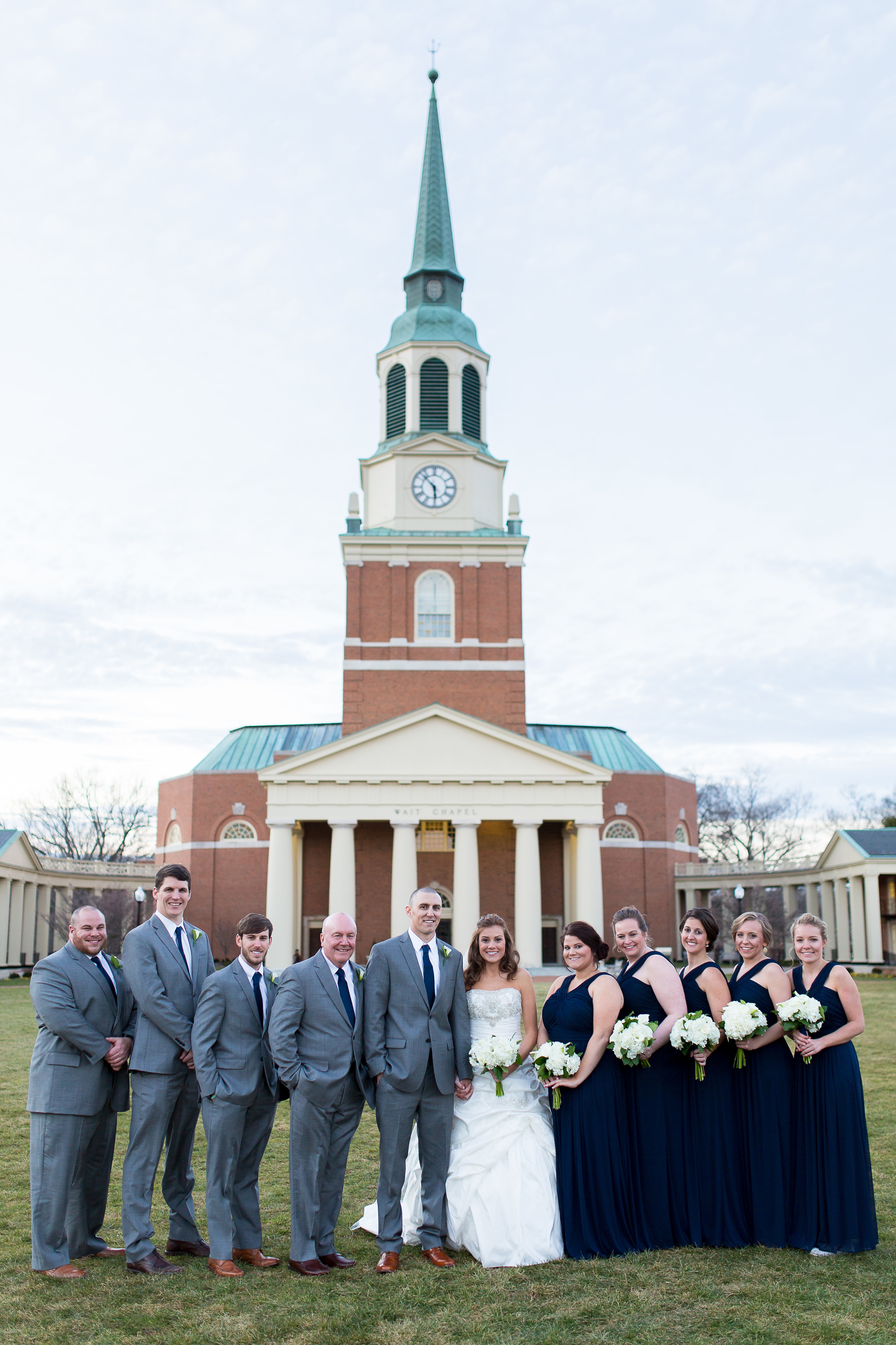 Michigan Kansas City and Phoenix Wedding photographer Erin Evangeline Photography at Wait Chapel Wake Forest