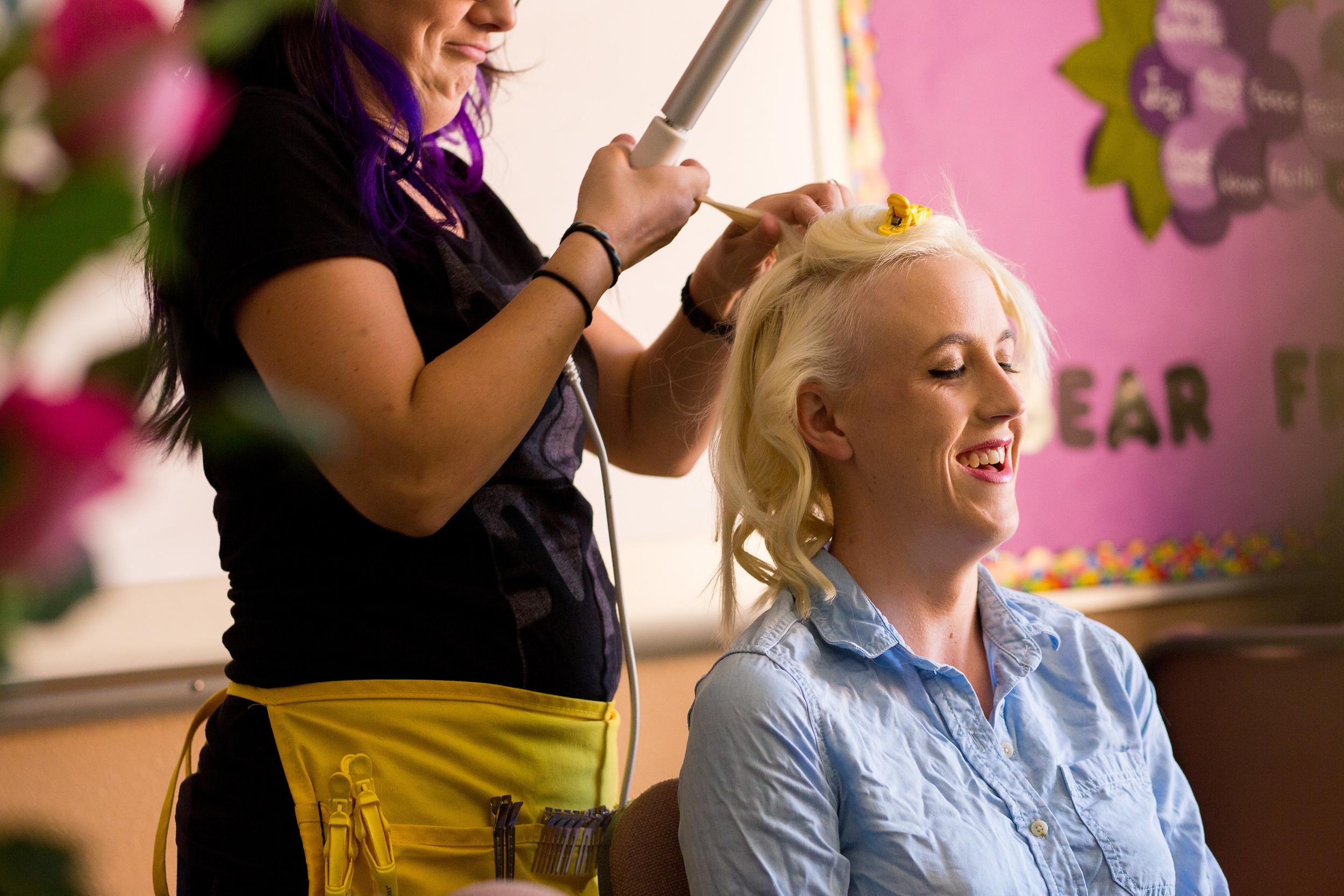 Phoenix Wedding Photographer Erin Evangeline Getting Ready