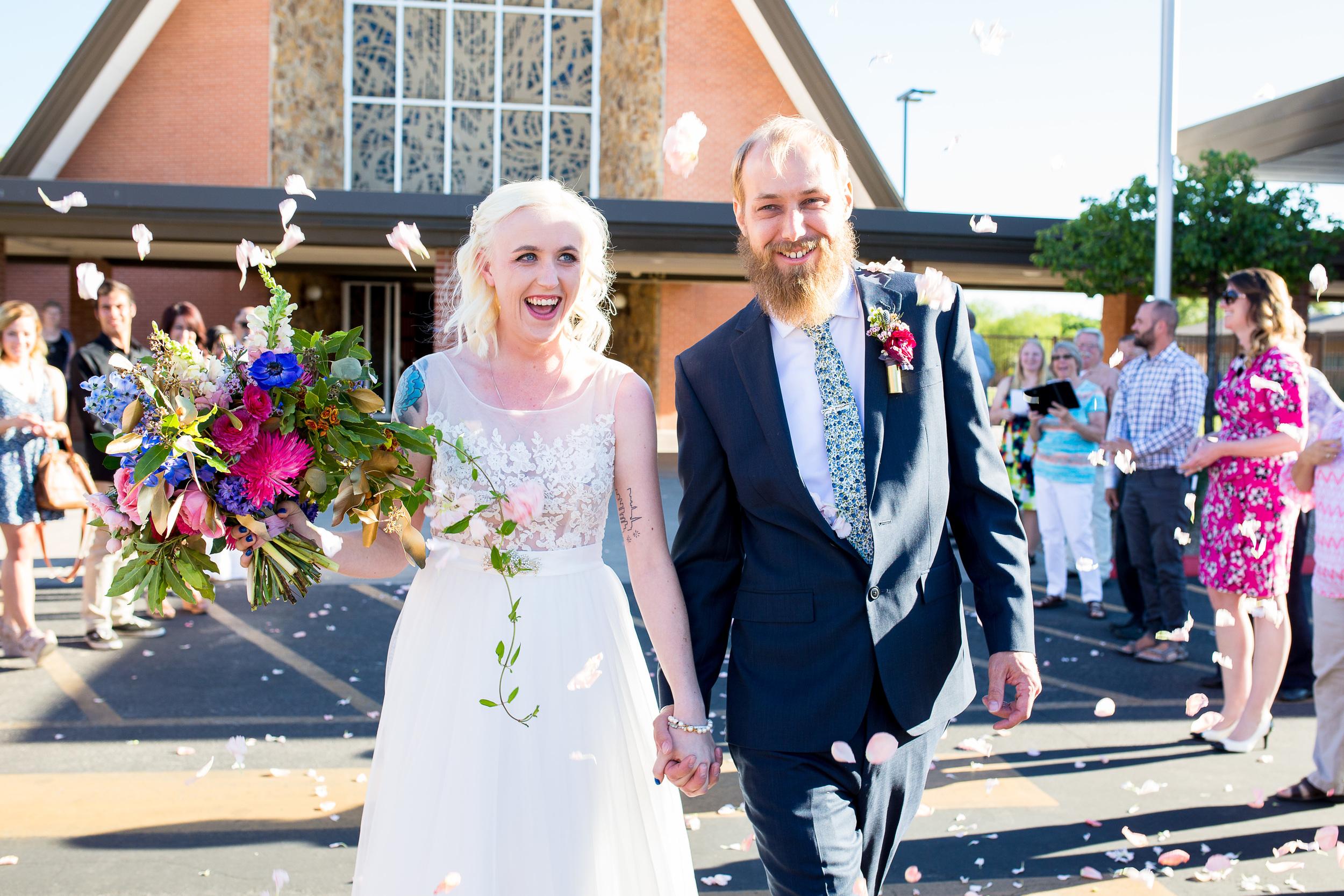 Phoenix Wedding Photographer Erin Evangeline Lutheran Christ Curch