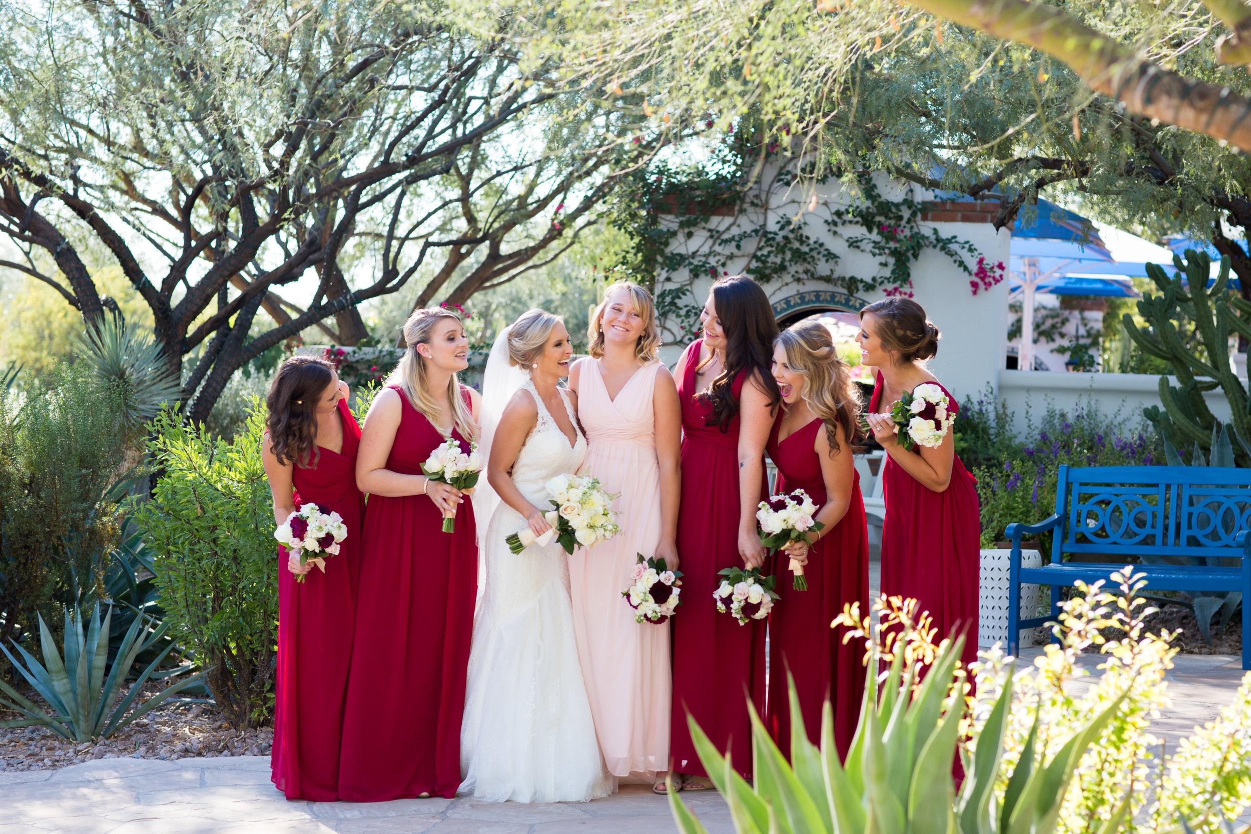 El Chorro Herb Garden Wedding Phoenix Photographer Erin Evangeline