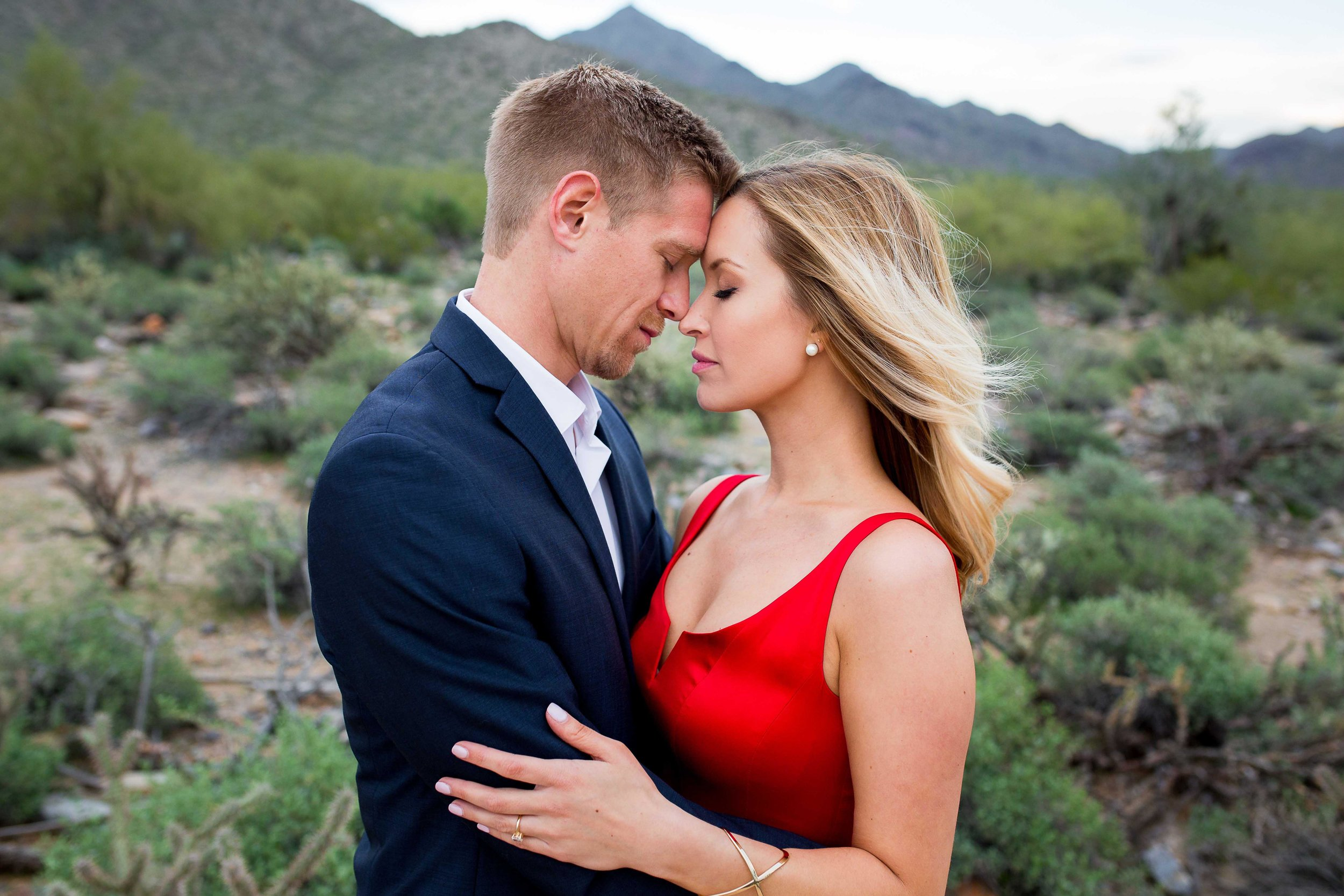 Phoenix Desert Engagement Photography