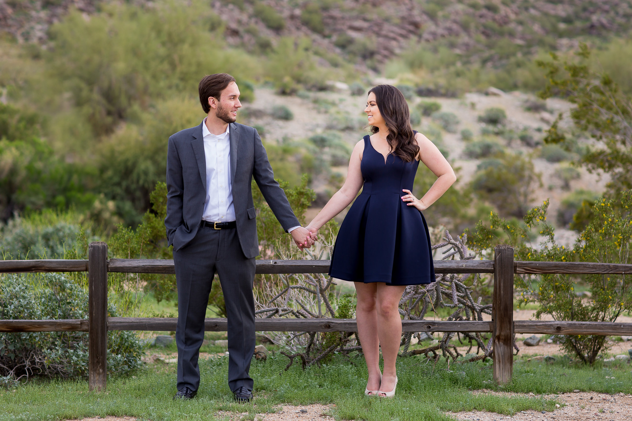 Scorpion Gulch Engagement Photos Phoenix Arizona