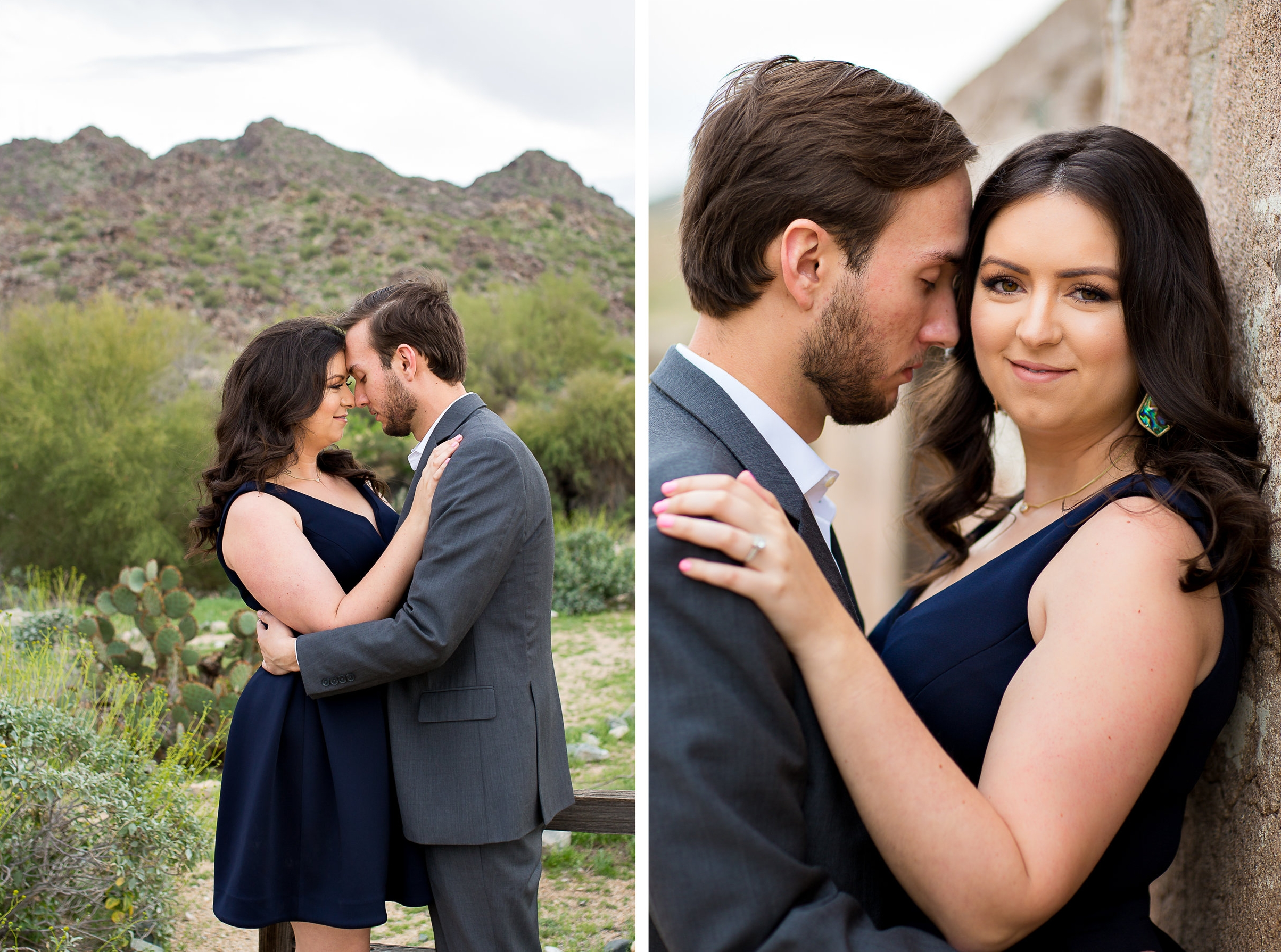 Phoenix Scorpion Gulch South Mountain Engagement Photos