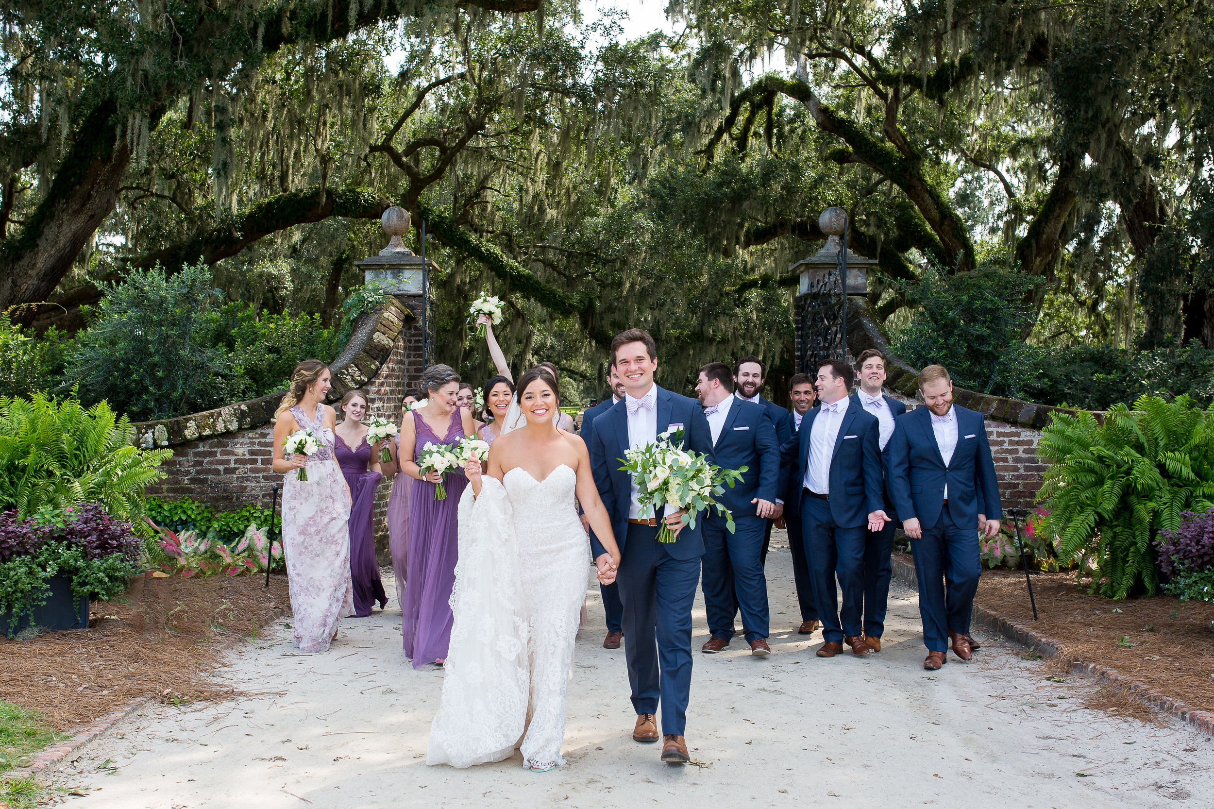 Charleston Wedding Photography Boon Hall Plantation