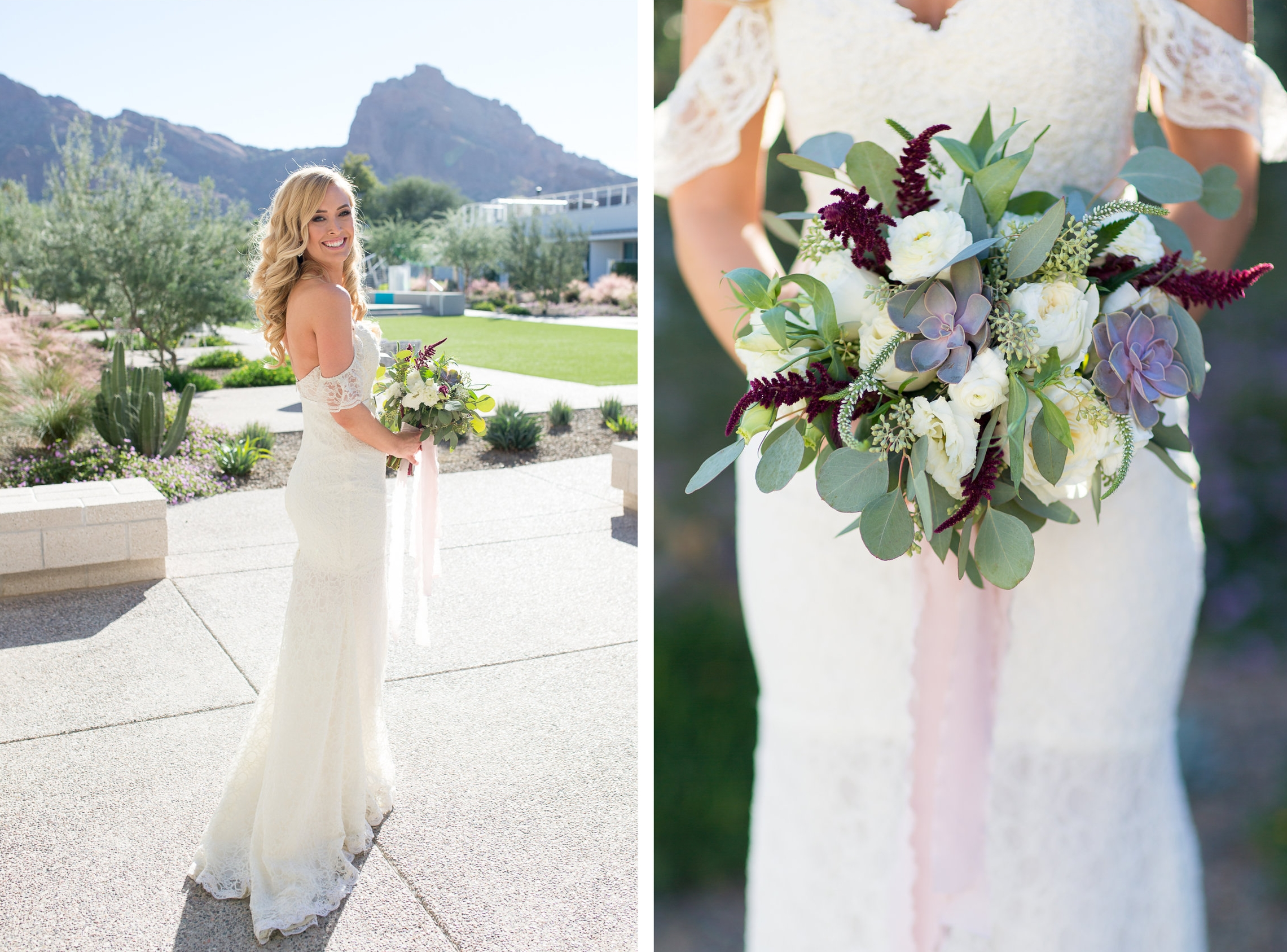 Mountain Shadows Wedding Resort Phoenix AZ Erin Evangeline
