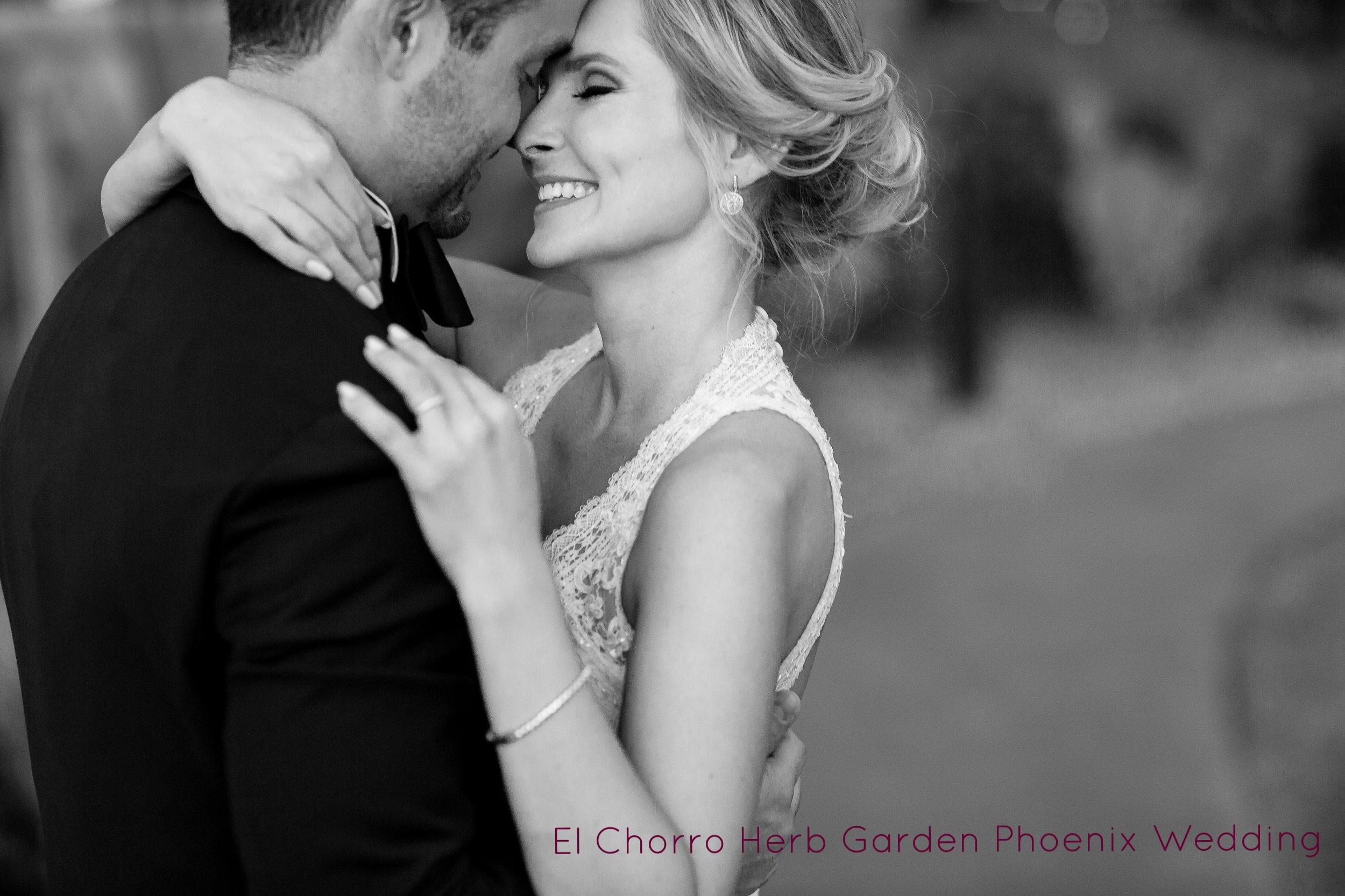 El Chorro Herb Garden Wedding Photography