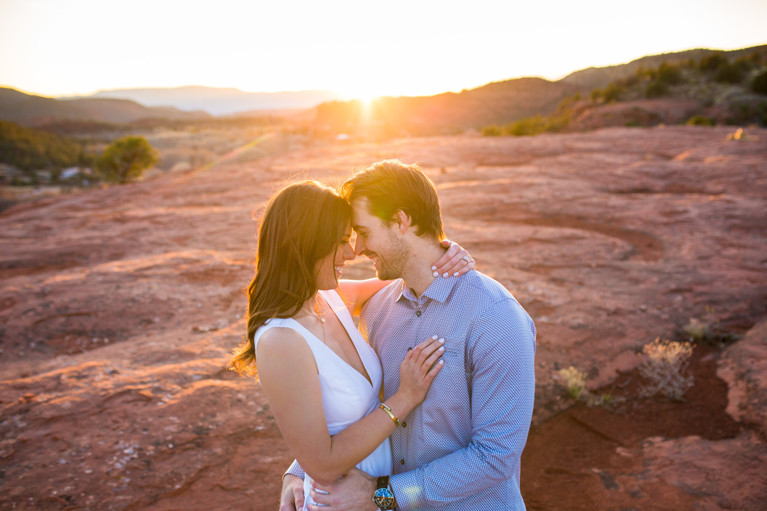 Sedona Sunset Phoenix Arizona Wedding Photographer