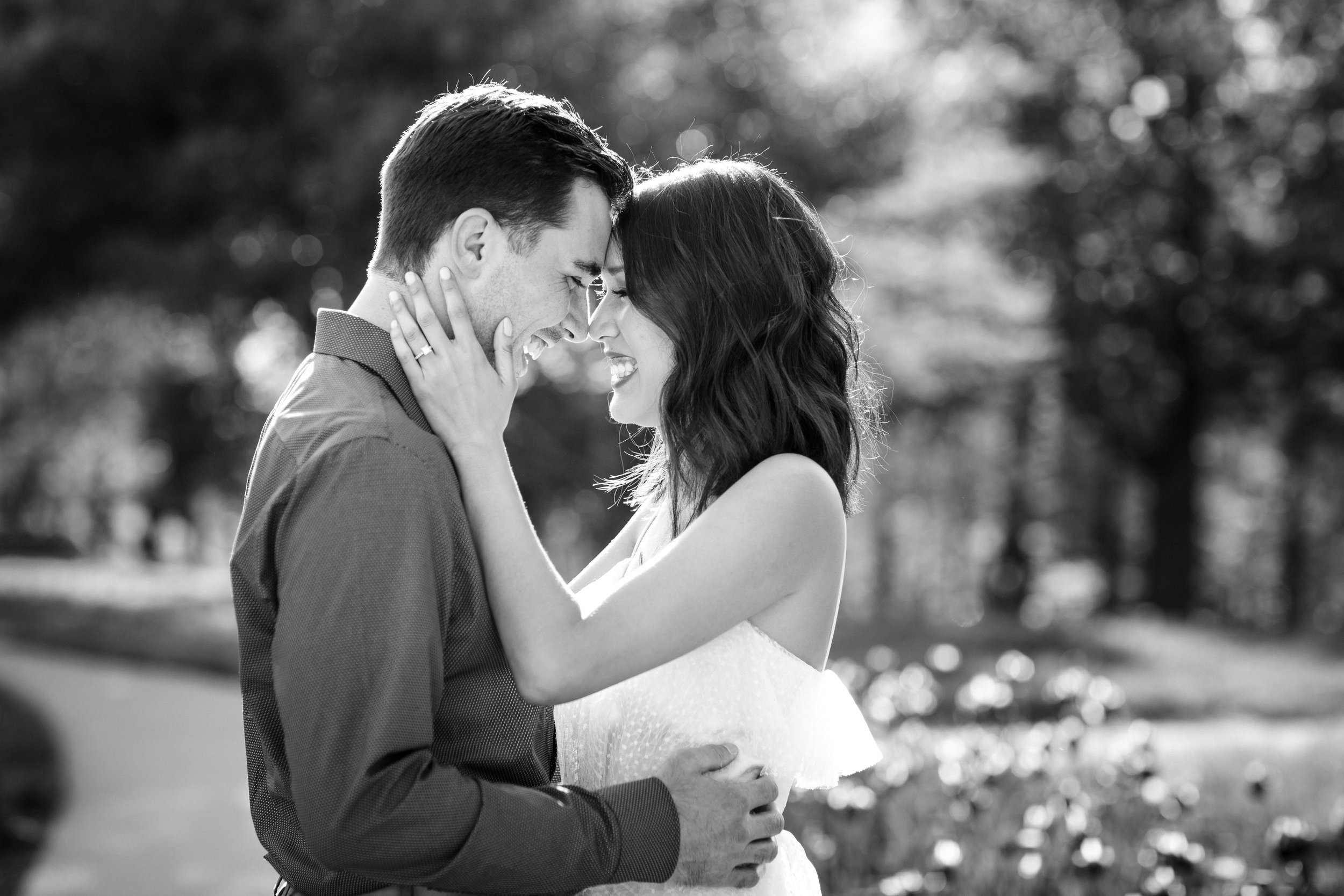 Forest Park Engagement Photography Erin Evangeline Chicago Photographer