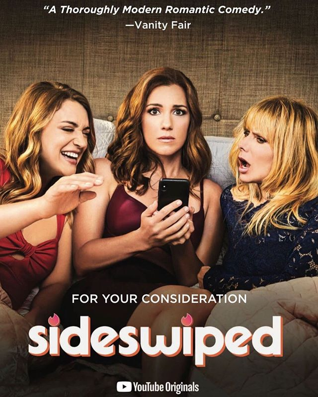 Dear TV academy voters. We made a Funny TV show. With a lot of love. If you love it. Then pls vote for it. If you havent seen it. Watch it. If you dont want too. That's cool too but 21 million other people have. So youre missing out. Xxoo #dontmissout #fyc #emmys #sideswiped #sideswipedseries #sideswipedtheseries