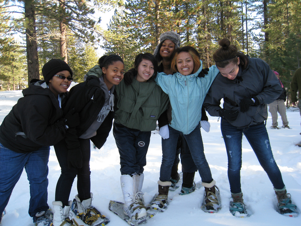 All smiles for snowshoeing! .jpg