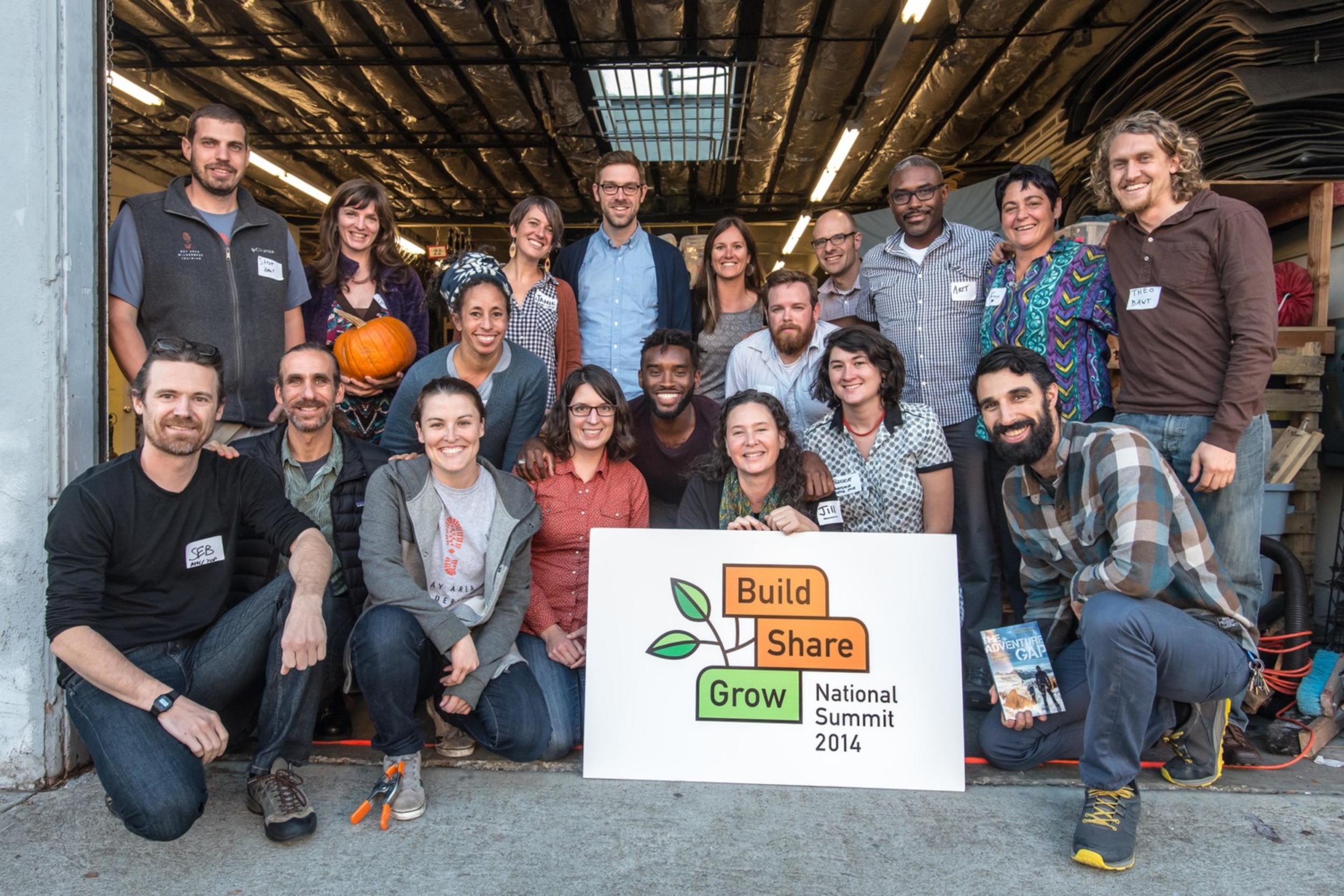 The 2014 Summit attendees represented people working to connect kids to nature in 10 cities from Portland, ME, and New York City, to Seattle, WA and everywhere in-between!