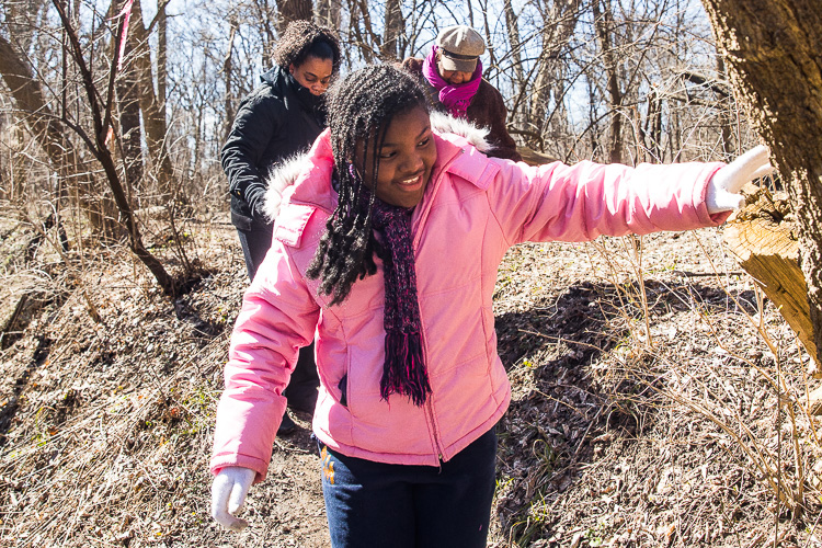 Photos by David Lewinski, courtesy of Detroit Inspiring Connections Outdoors