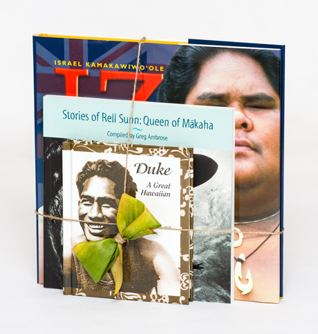 Duke: A Great Hawaiian,   Stories of Rell Sunn: Queen of Mākaha,  and  IZ: Voice of the People