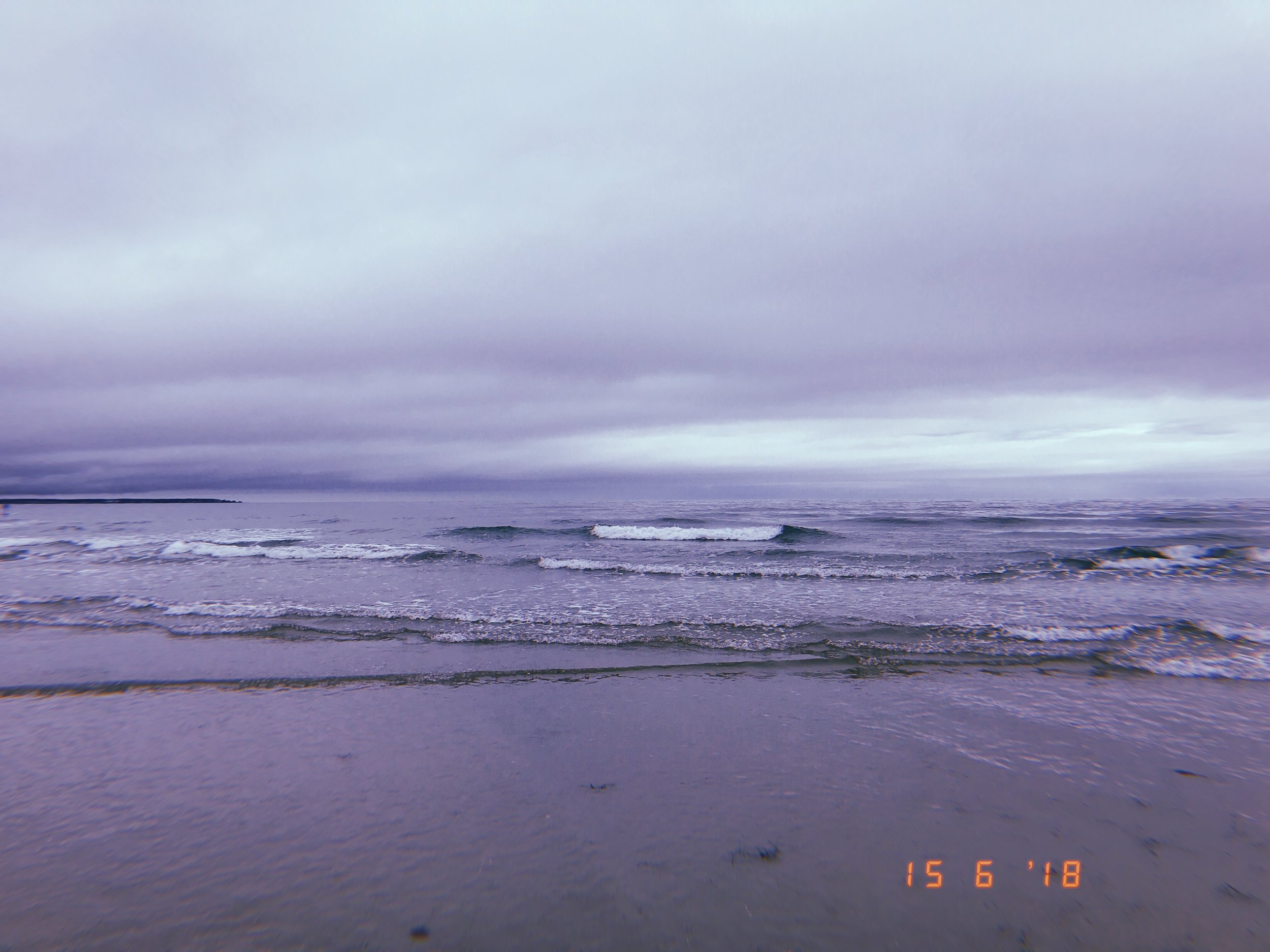 08:20am Welles Beach, Maine.