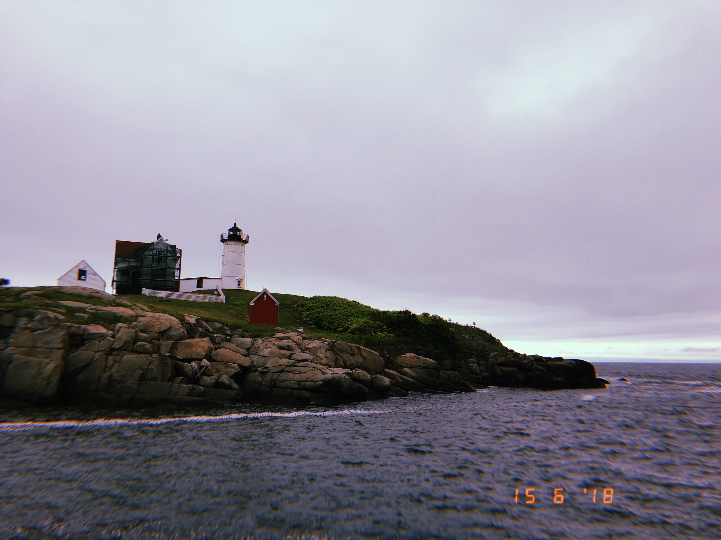 Nubble Lighthouse. Cape Neddick, Maine.