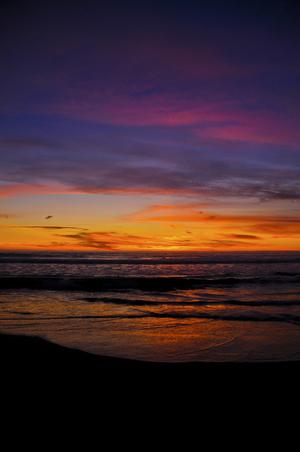 David Jordan Williams - sunset - surfers