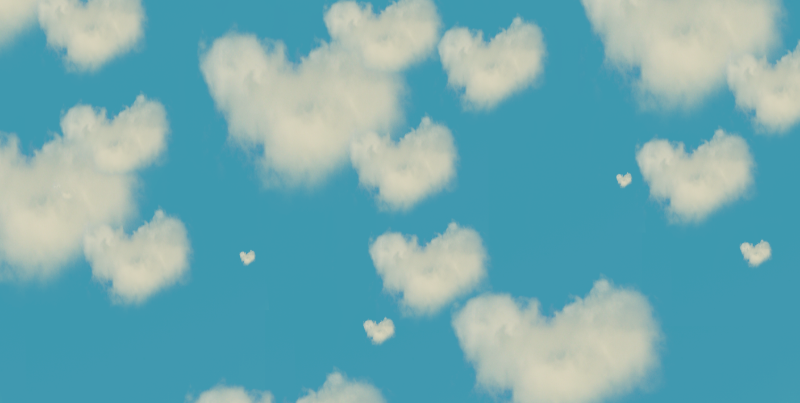David Jordan Williams -  heart clouds