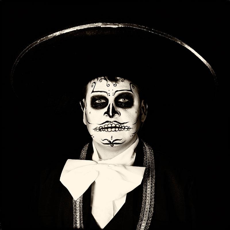 Día De Los Muertos,Mariachi Sugar Skull