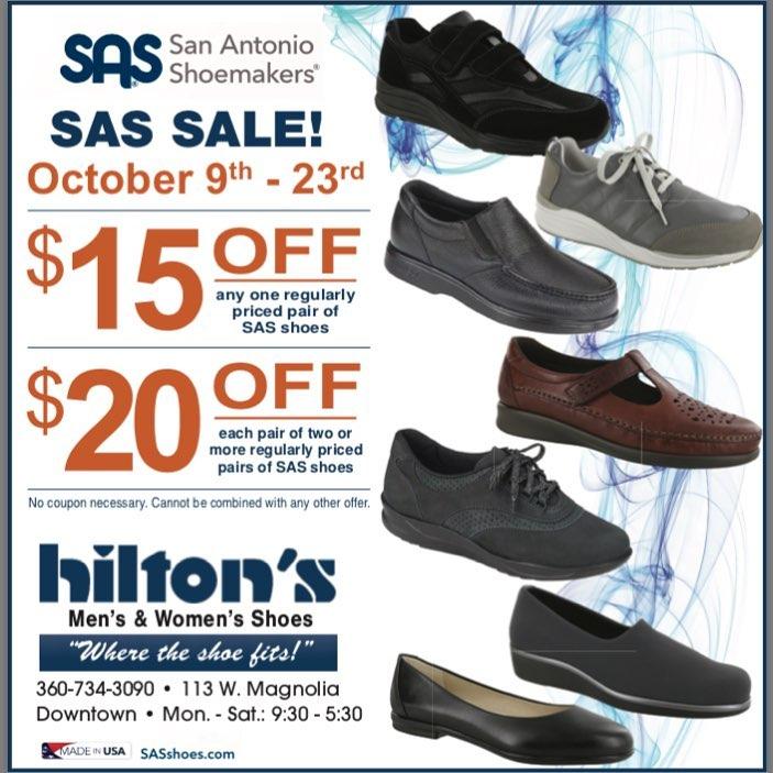 Event Calendar — Hilton's Shoes