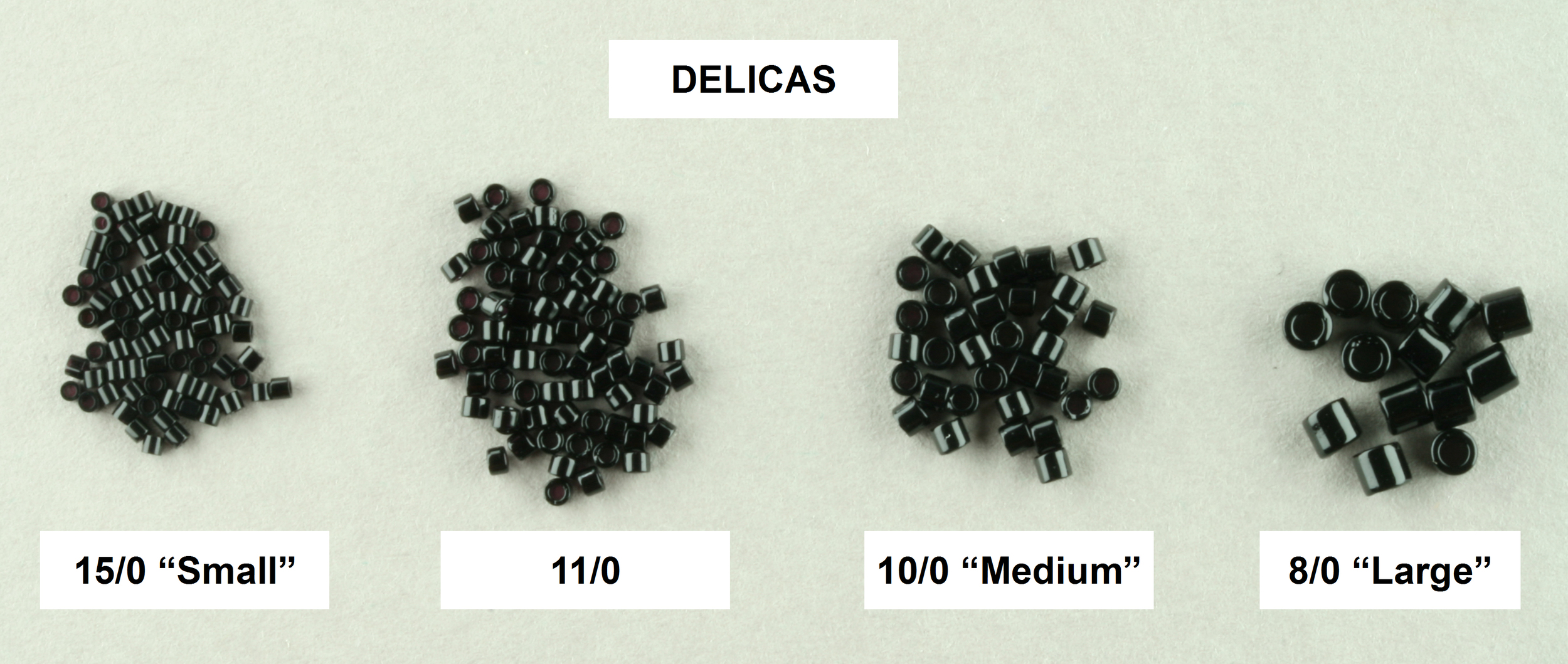 11//0 Seed Beads sizes 15//0 8//0 and 6//0 various colours 100g