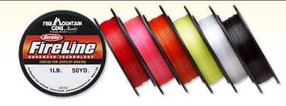 Fire Mountain Fireline color selections
