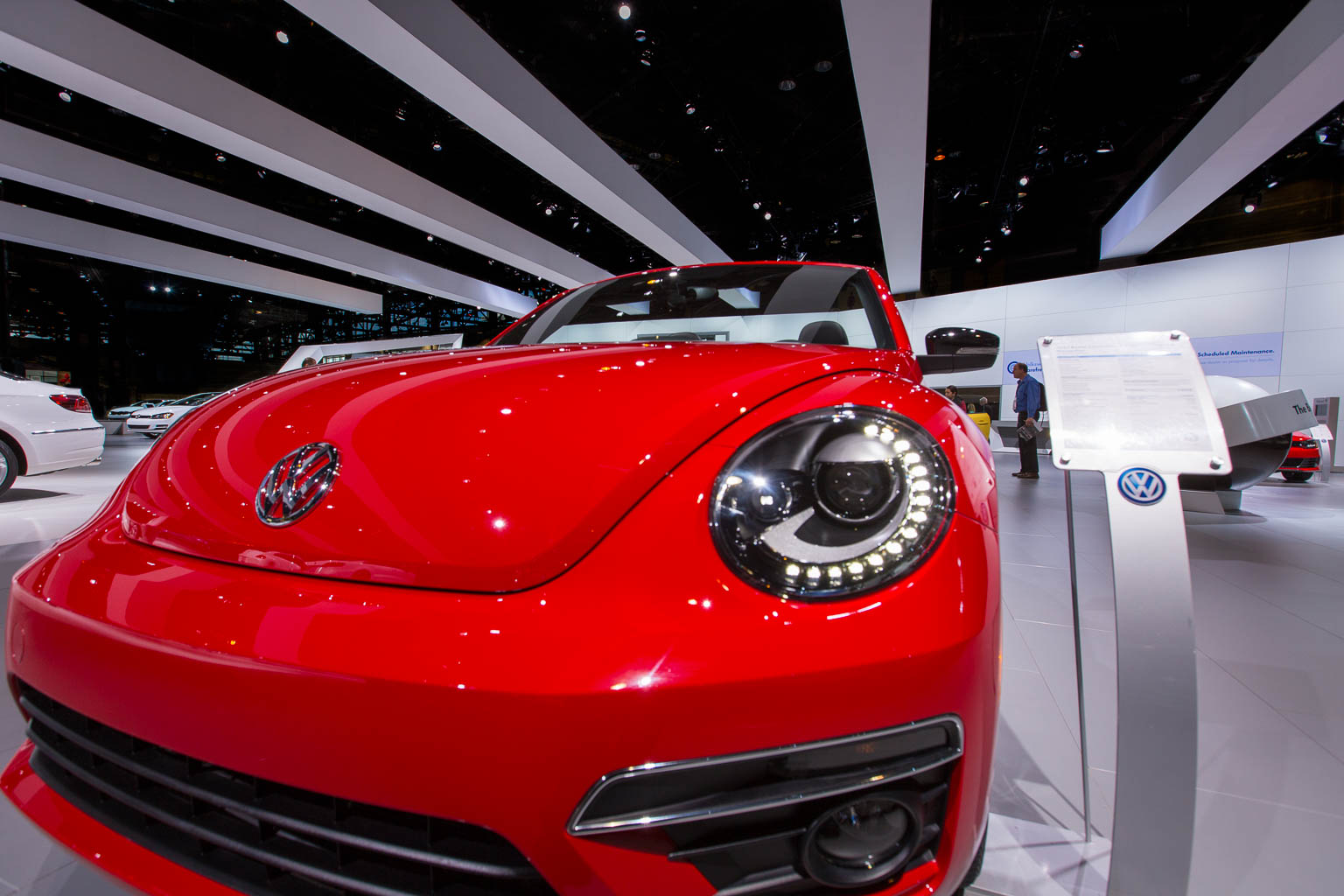 Volkswagen Booth, Chicago Auto Show 2014 - Lighting Designer Tyler Elich