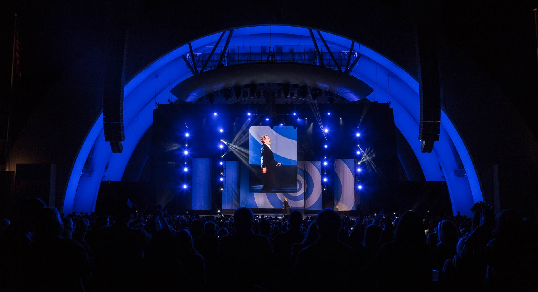 Eddie Izzard - Hollywood Bowl - Design by Orangelite