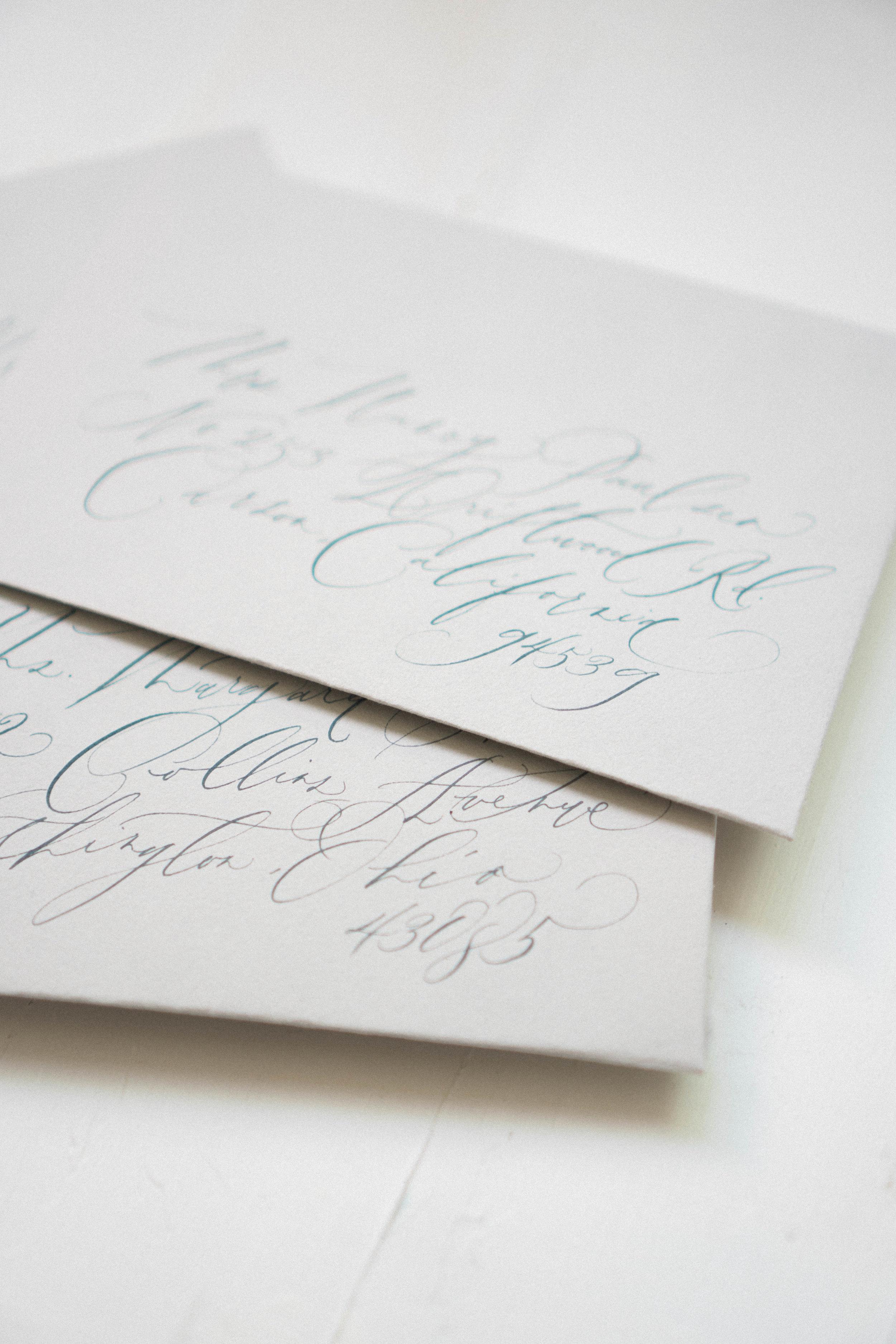 Envelope Addresing -