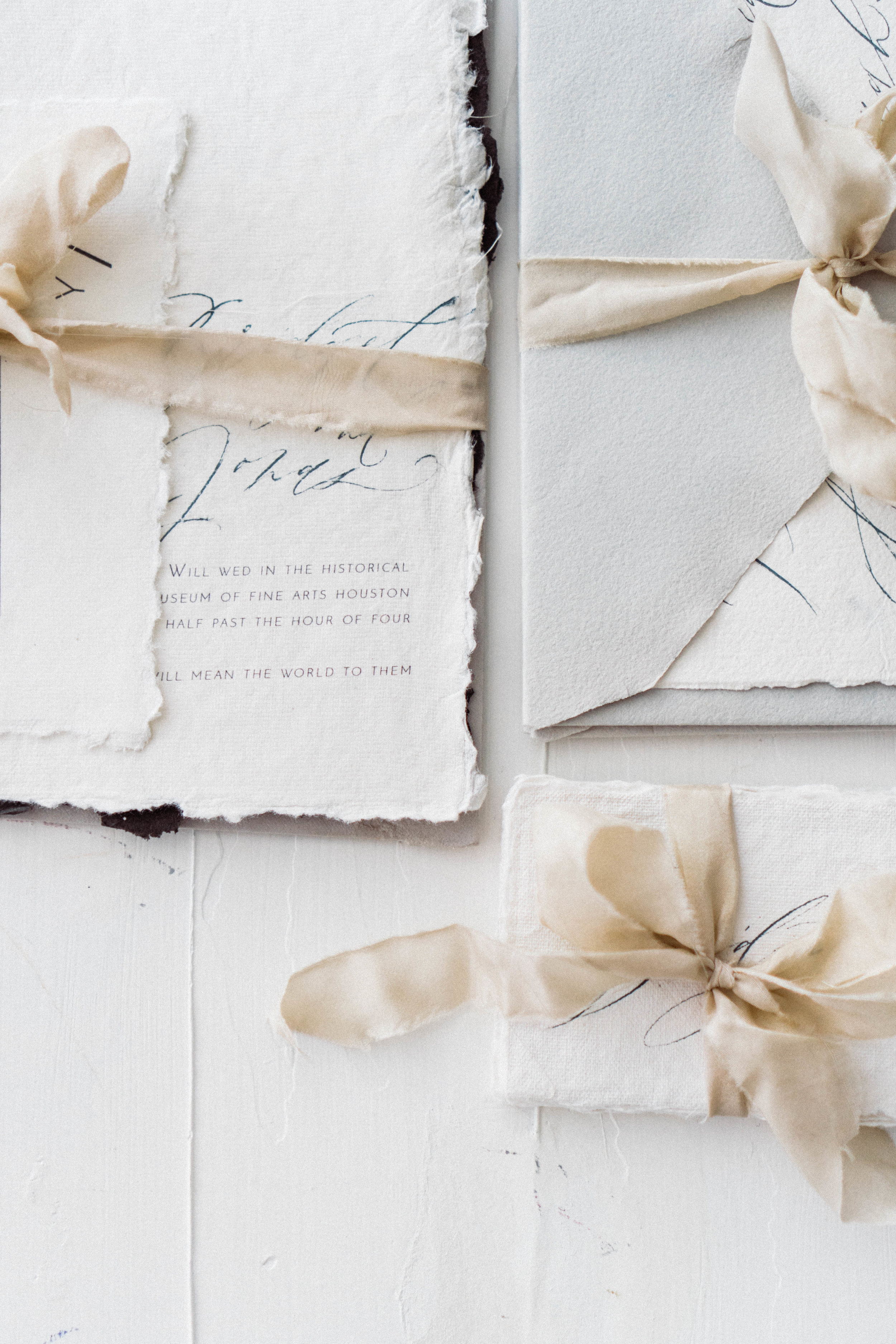 Custom Wedding Invitation -