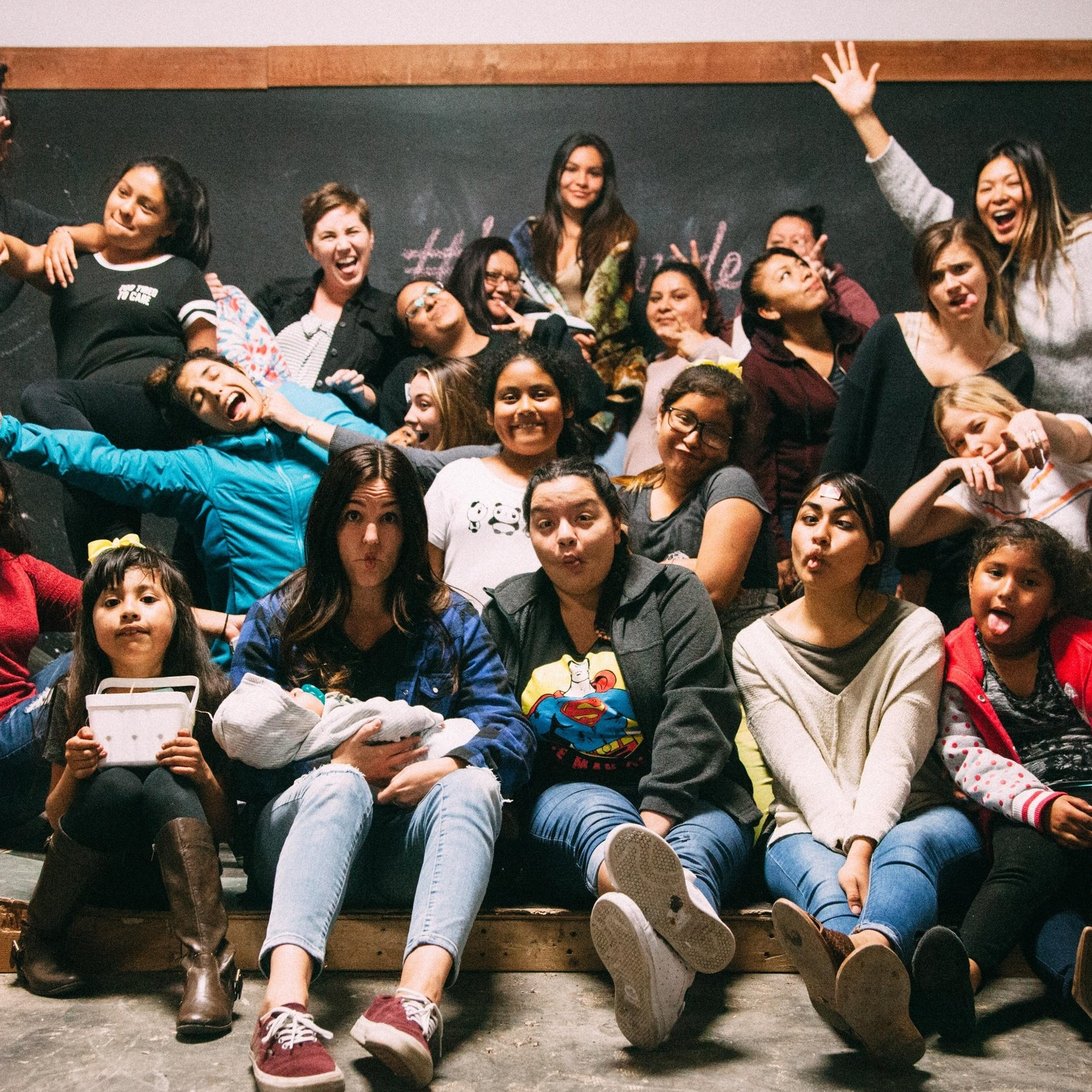 """Grounded - Every other Thursday evening is our """"All Girls Night."""" During this night, we strive to empower young girls and women to feel confident and to give them a voice in the community. We share a meal, good conversations, and always slide in a fun game or craft."""