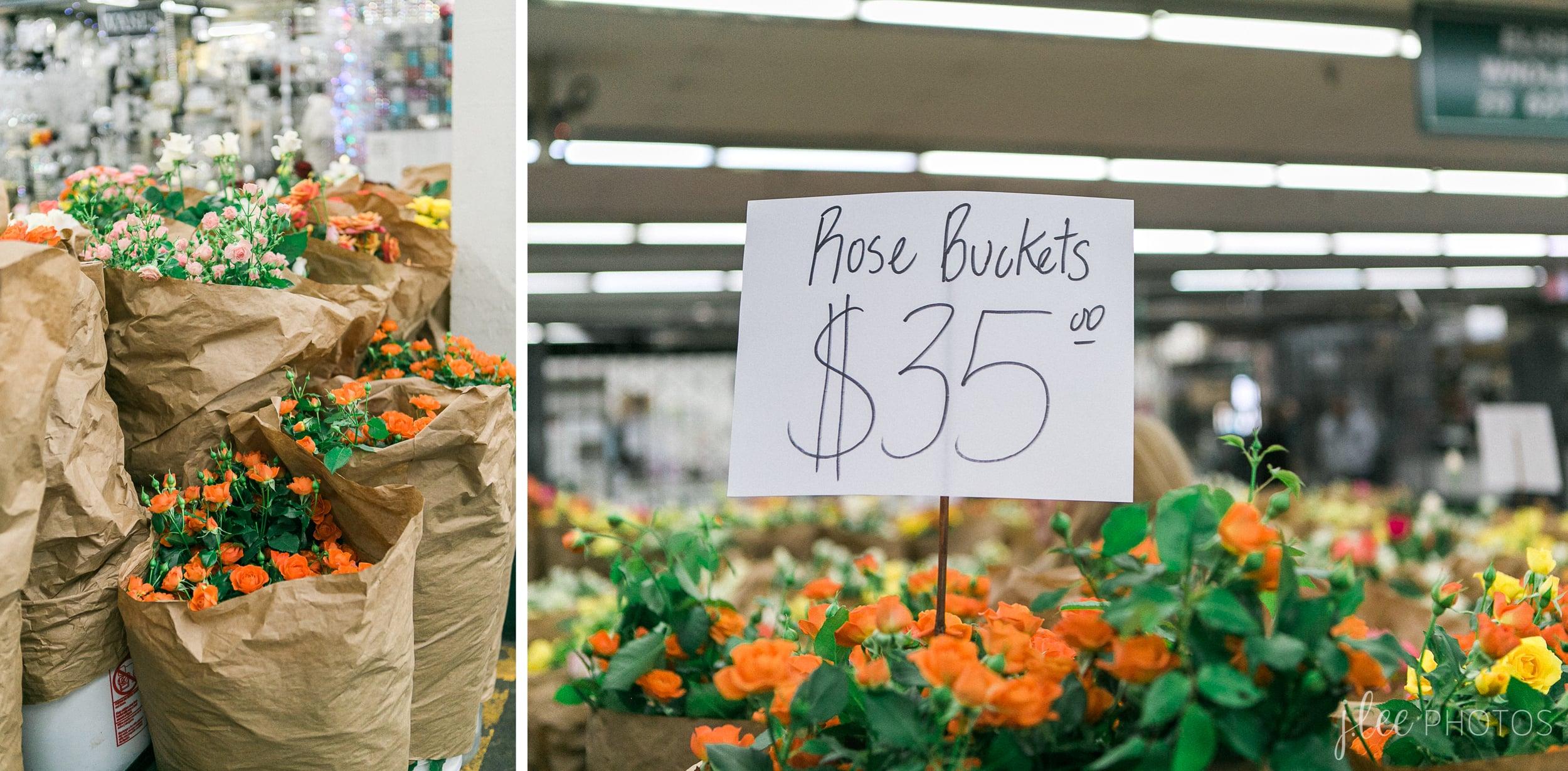 Los Angeles Mart Flower Bucket