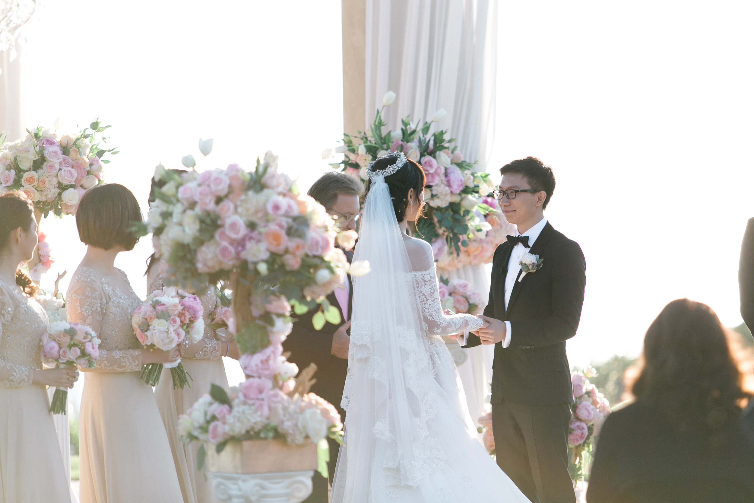 Pelican Hill Wedding Ceremony