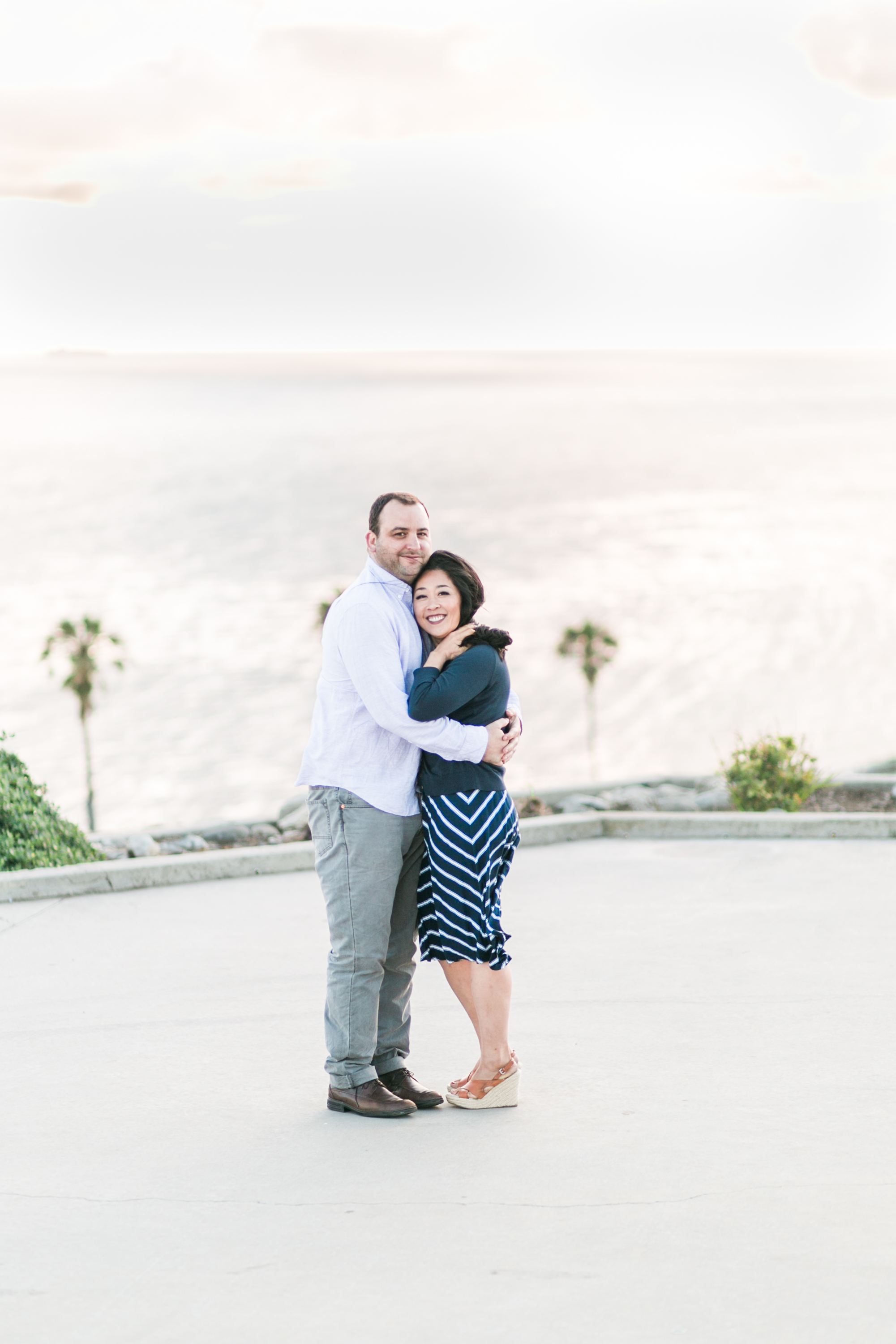 San Pedro Engagement Photo