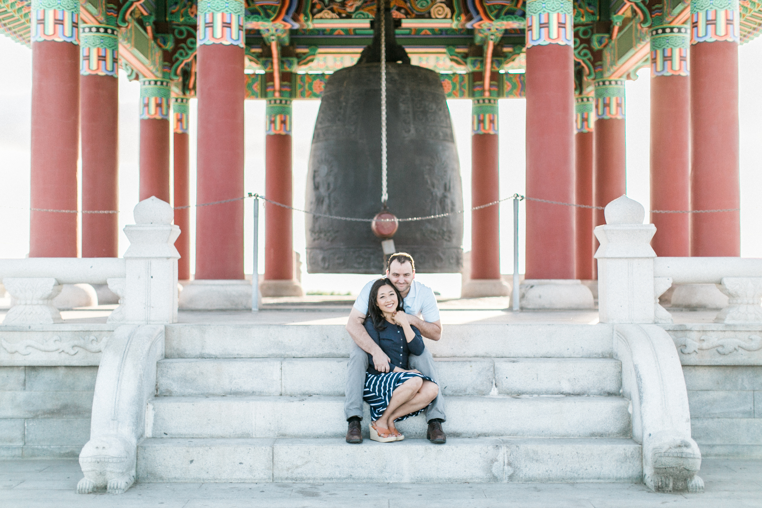 Korean Friendship Bell Engagement