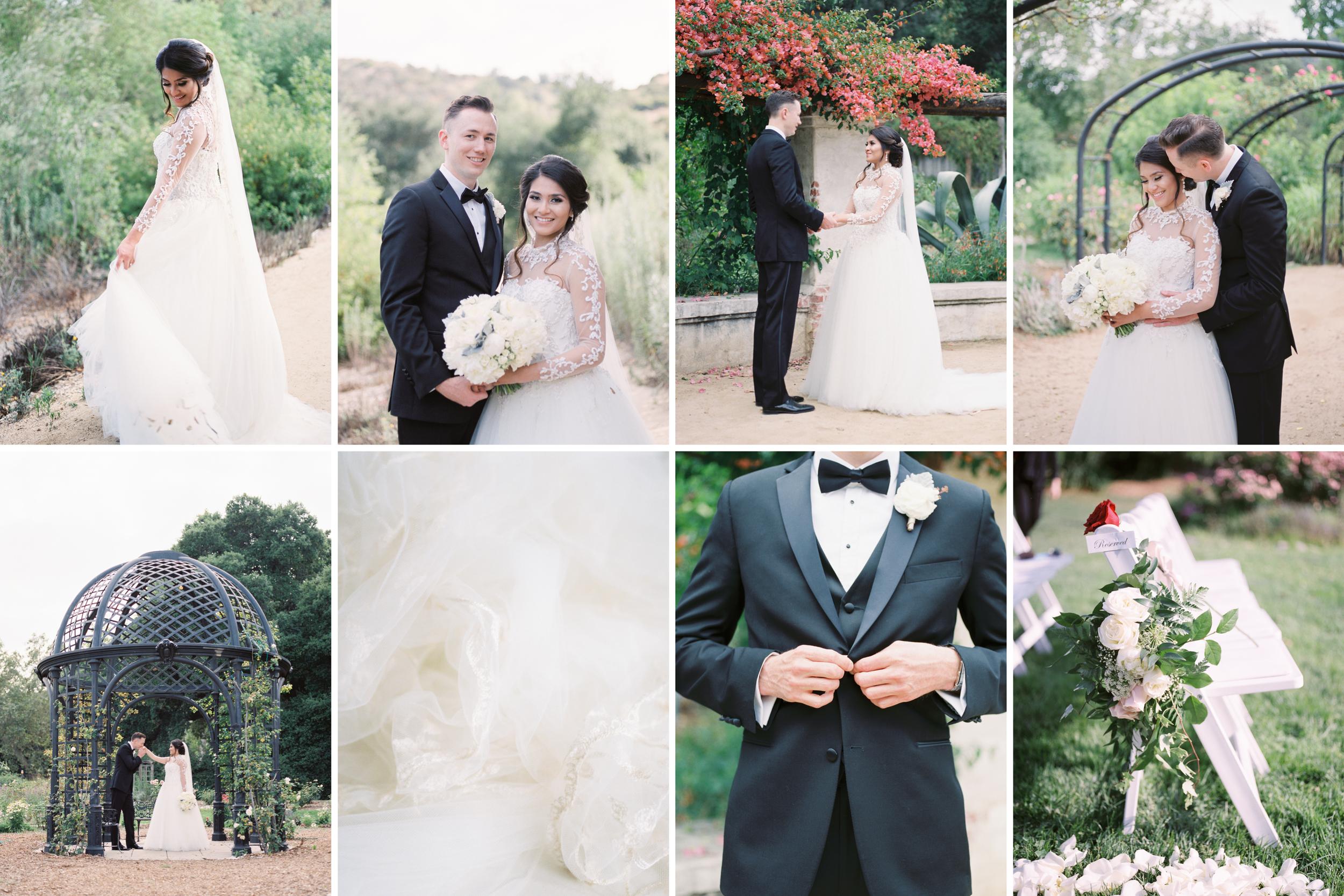 Descanso Gardens Wedding Photos