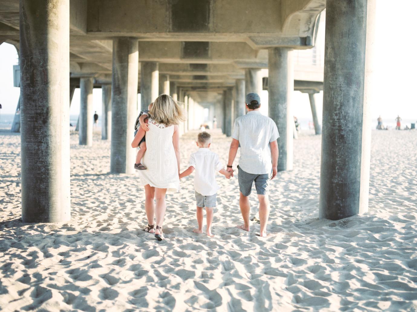 Huntington Beach Family Photos - WILSON FAMILY